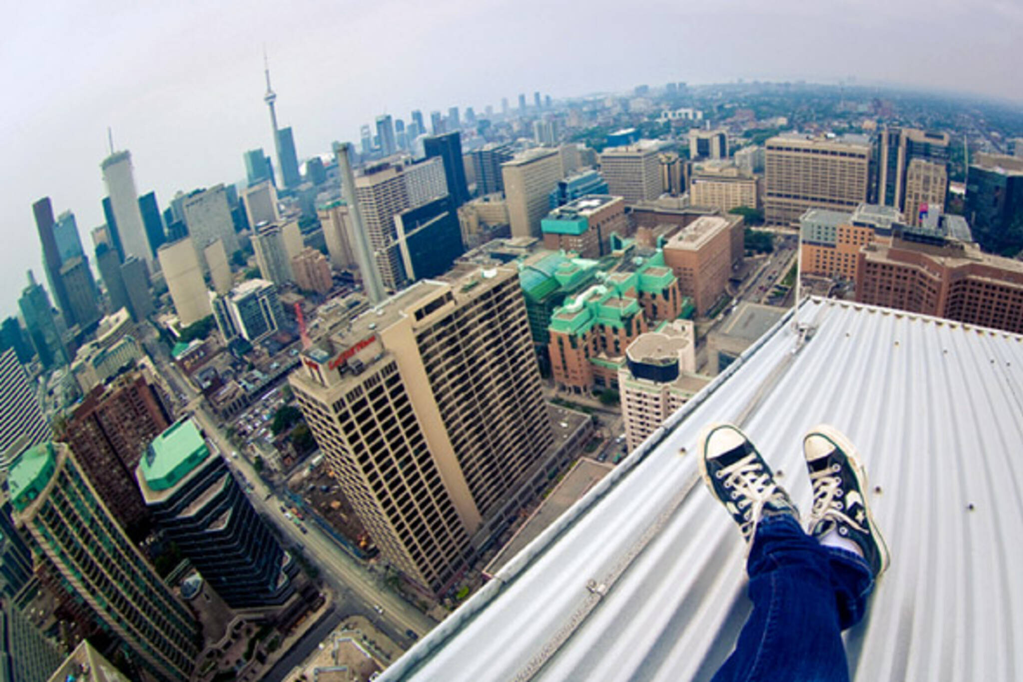 rooftop photographs of toronto