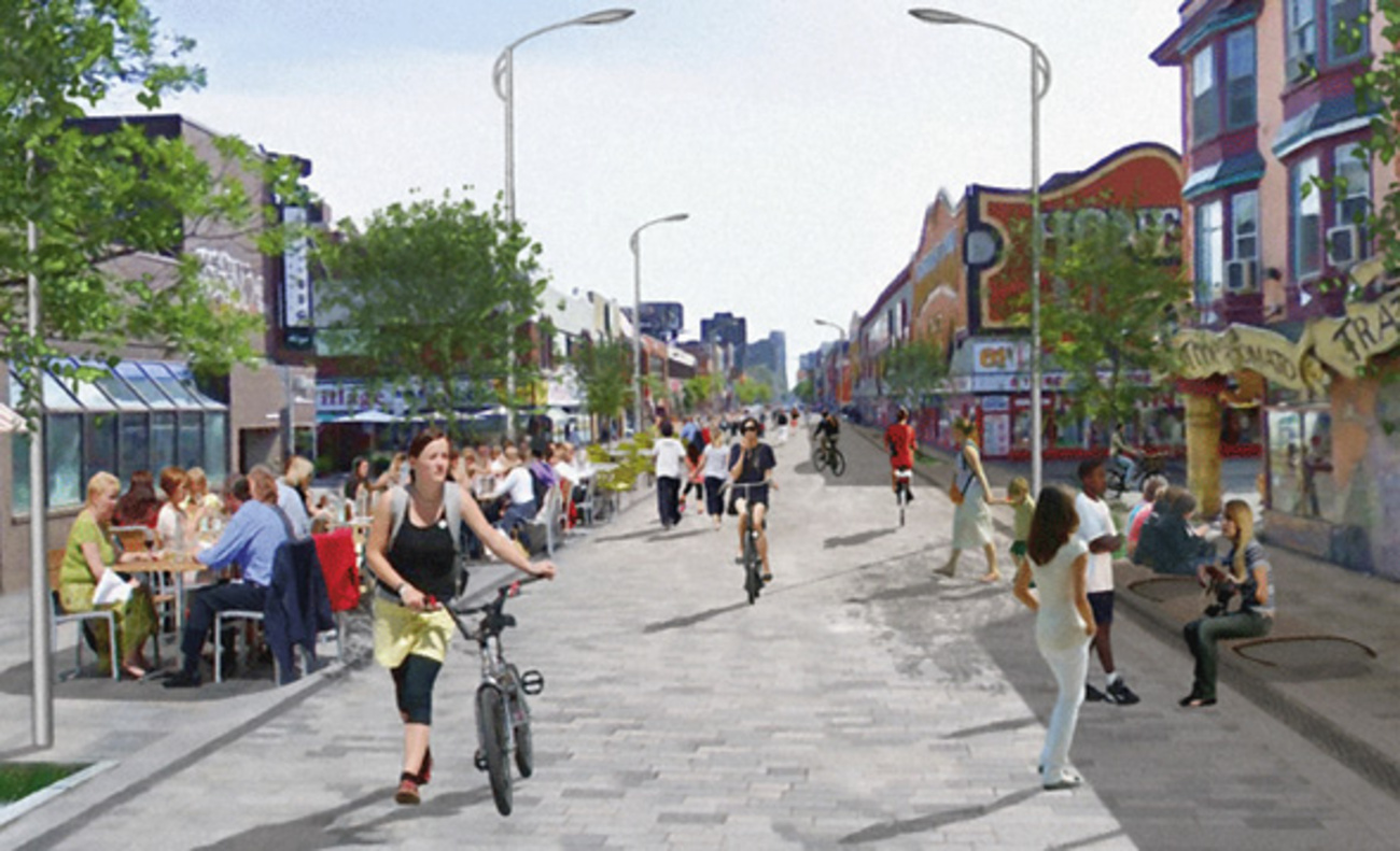 What A Woonerf Might Look Like In Toronto