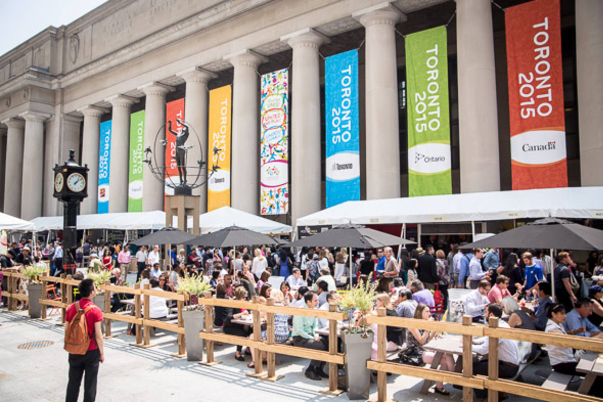 union station summer market
