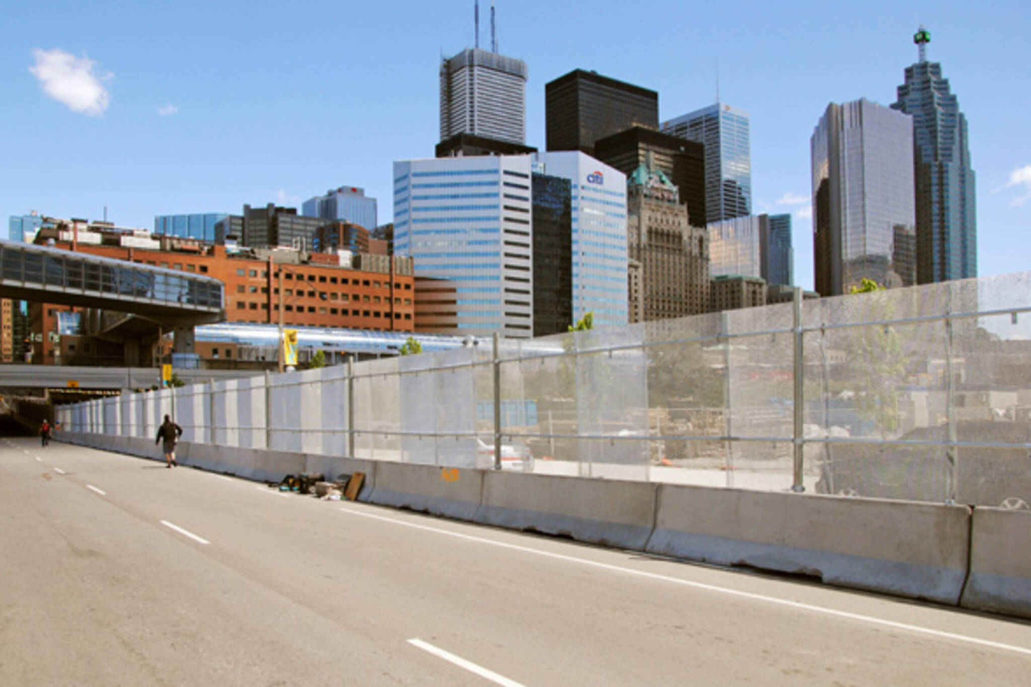 G20 security fence toronto