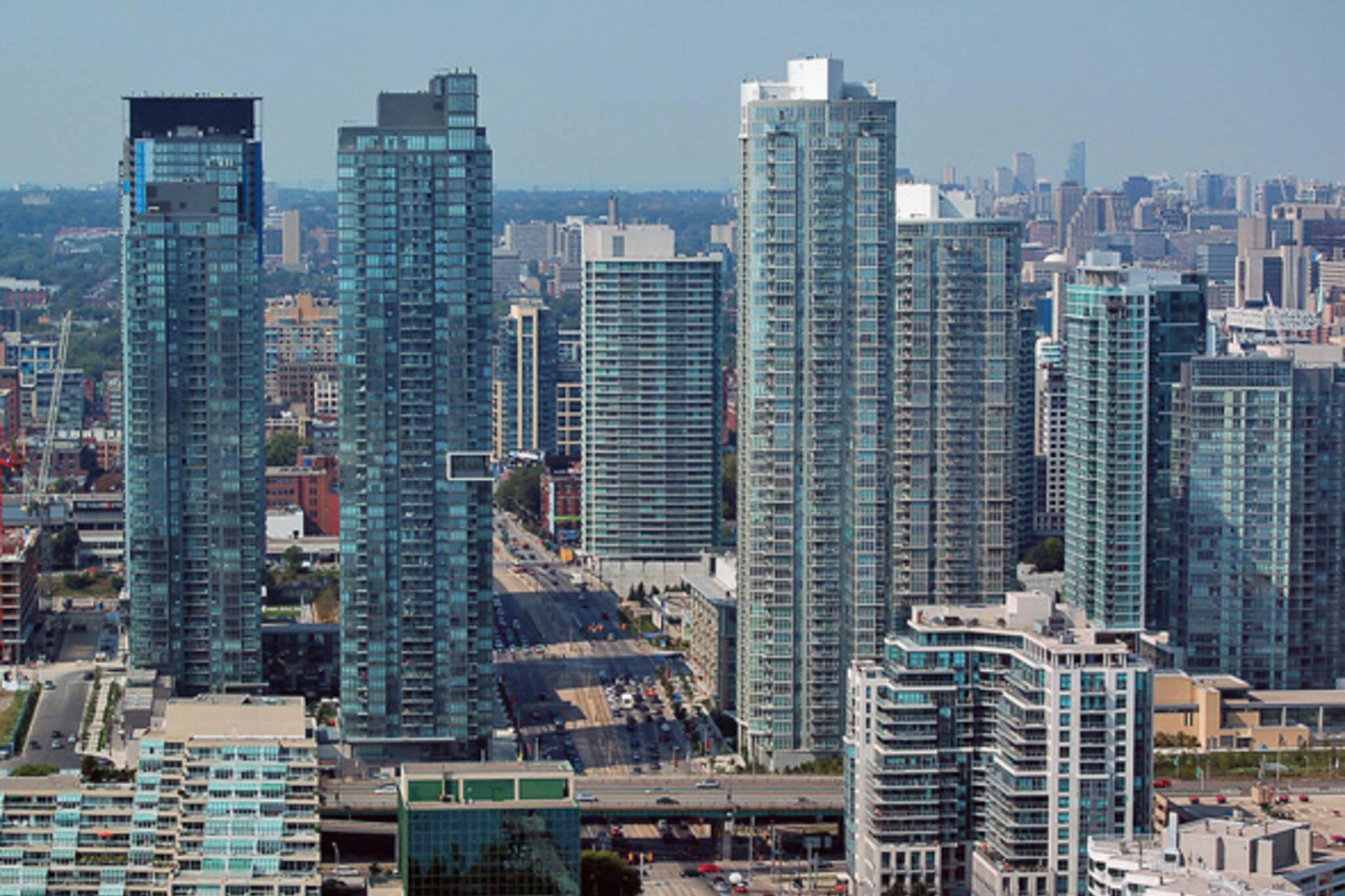 Calgary Glass Highrise Buildings