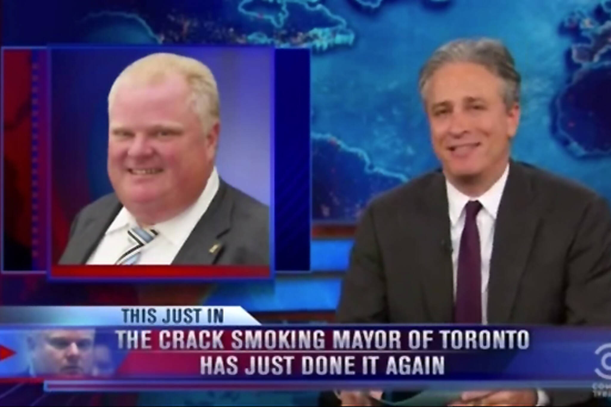 Daily show Rob Ford