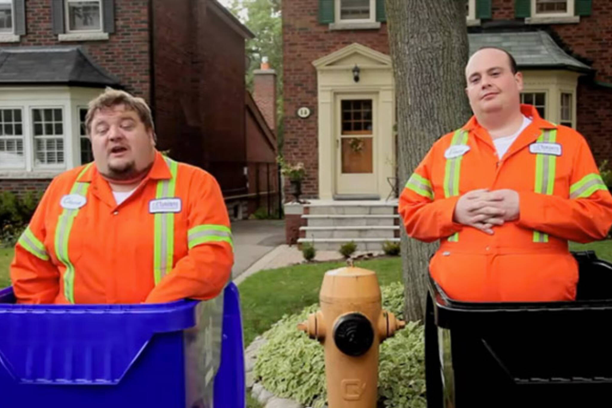 Chuck and Vince Recyling YouTube