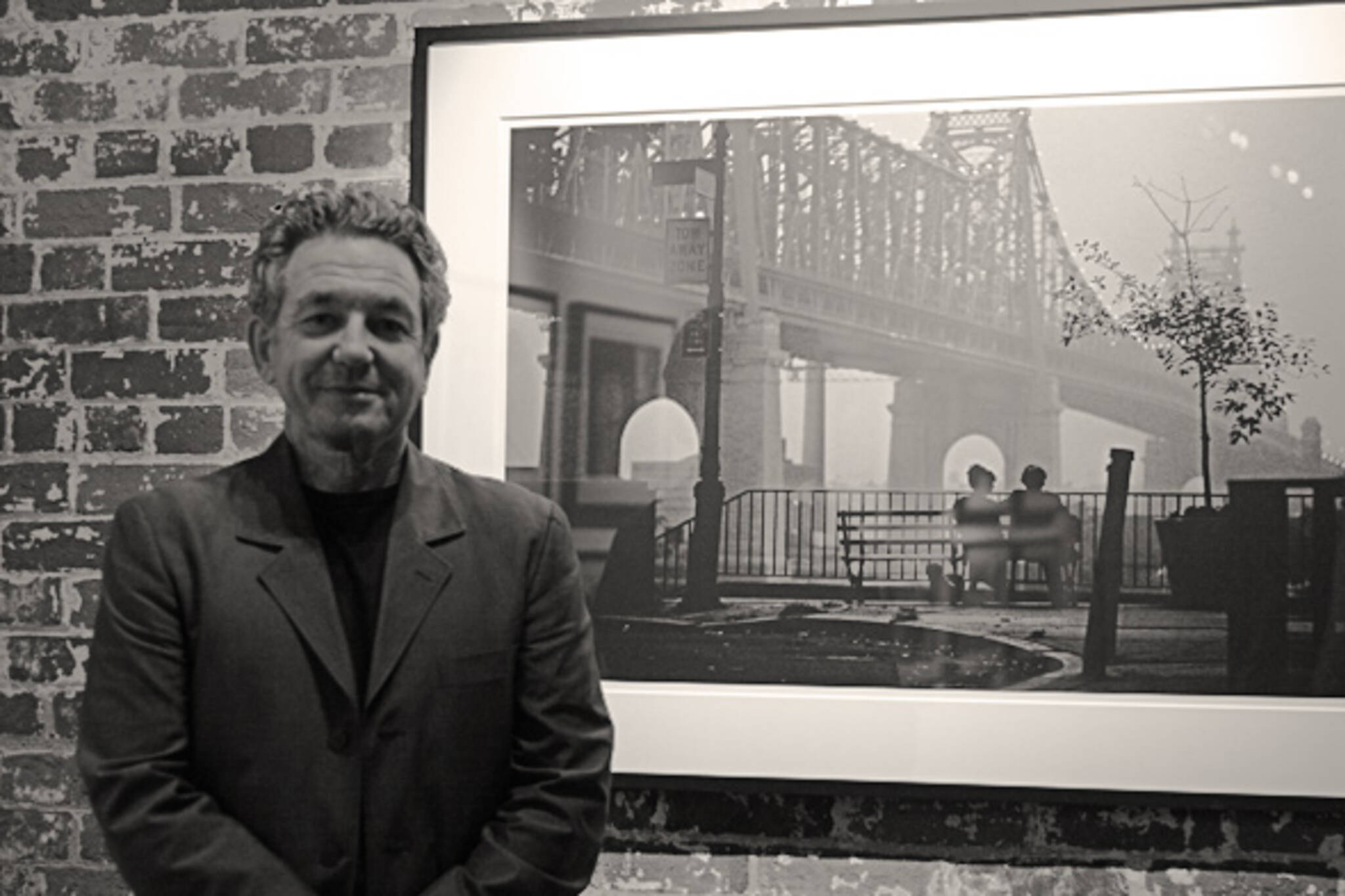 Film stills photographer Brian Hamill by his iconic shot from Woody Allen's Manhattan
