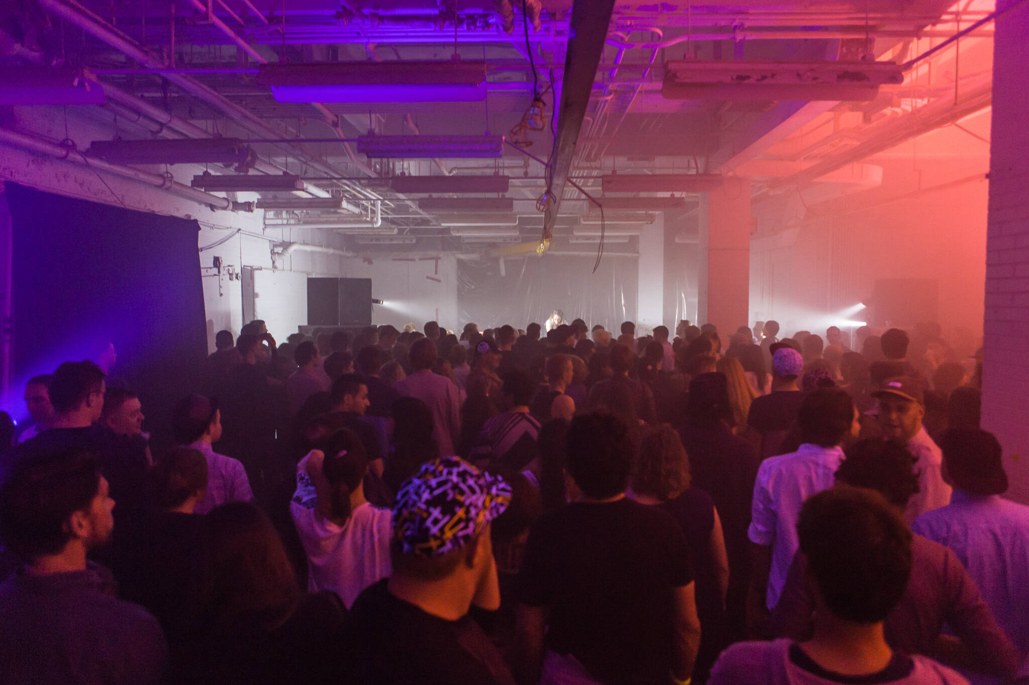 warehouse parties toronto