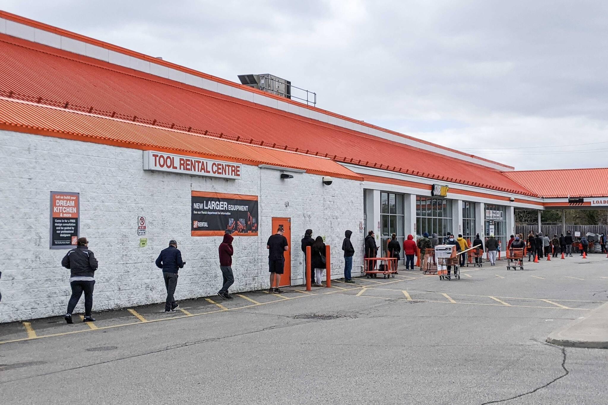 home depot open