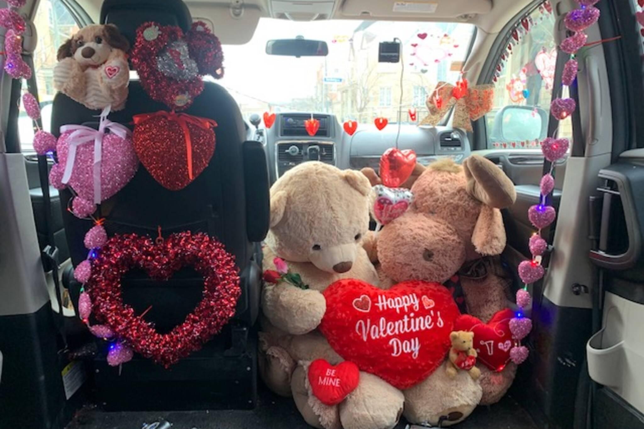 valentines day uber