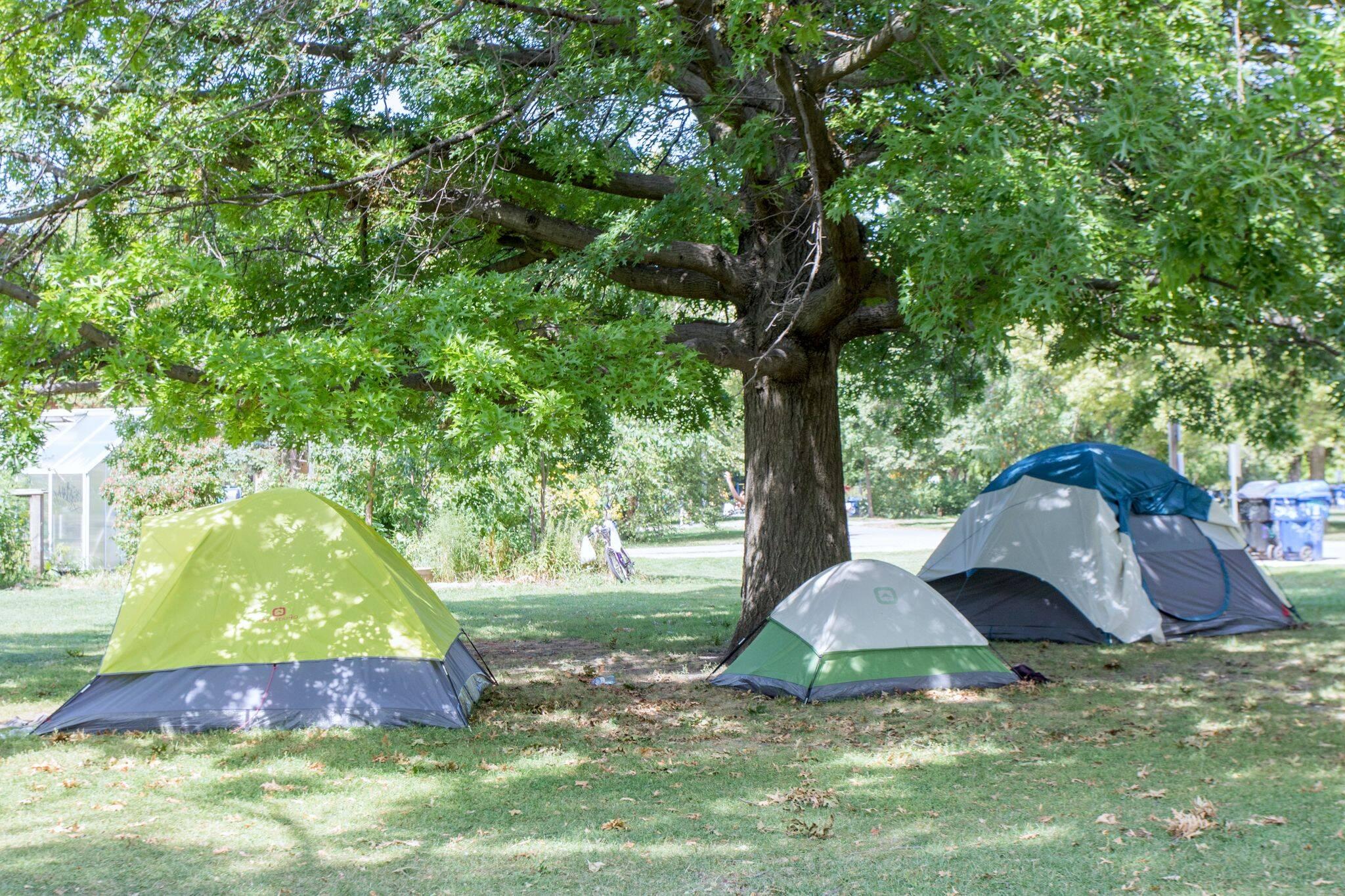 toronto homeless parks