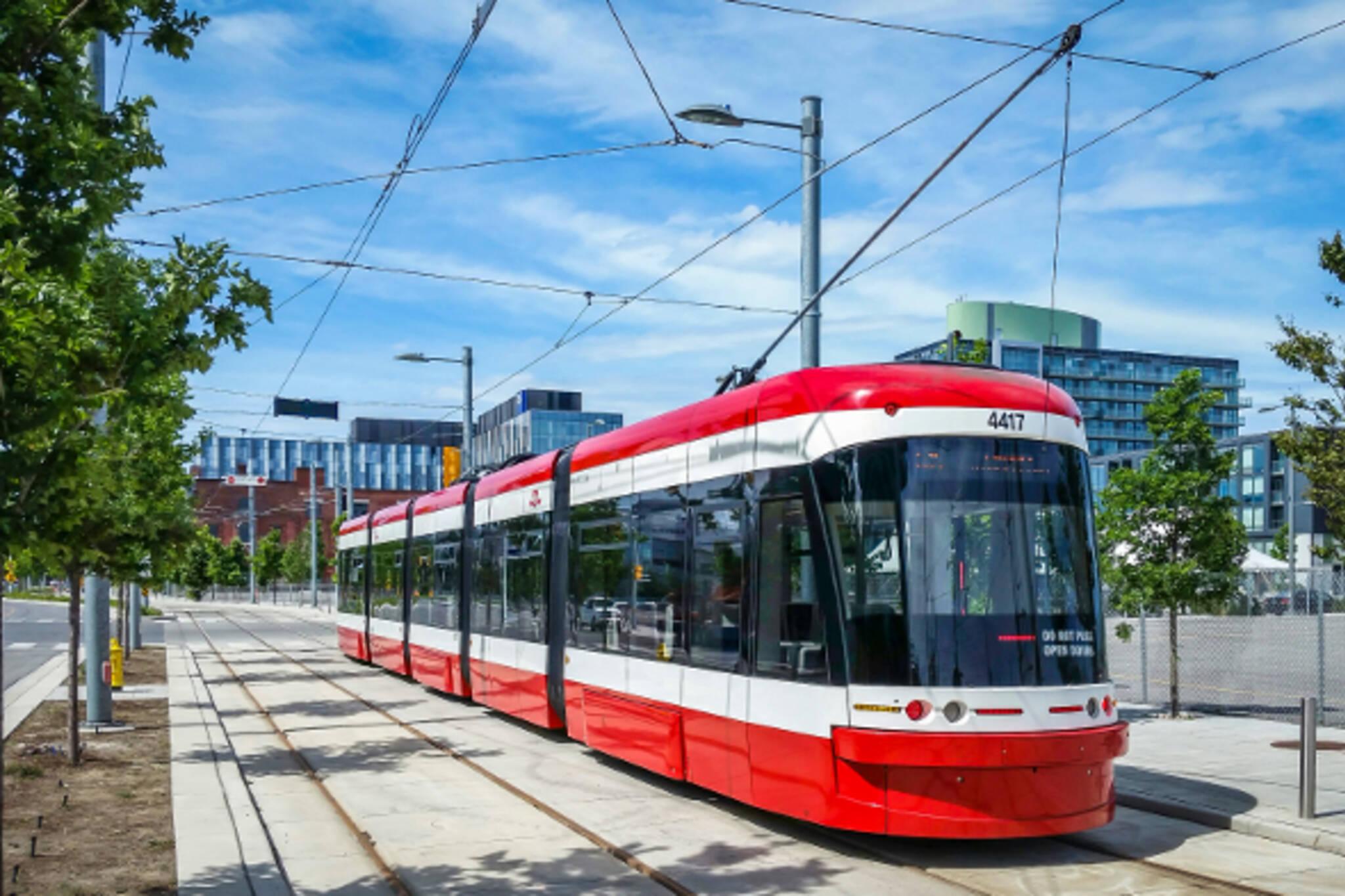 ttc streetcar noise toronto