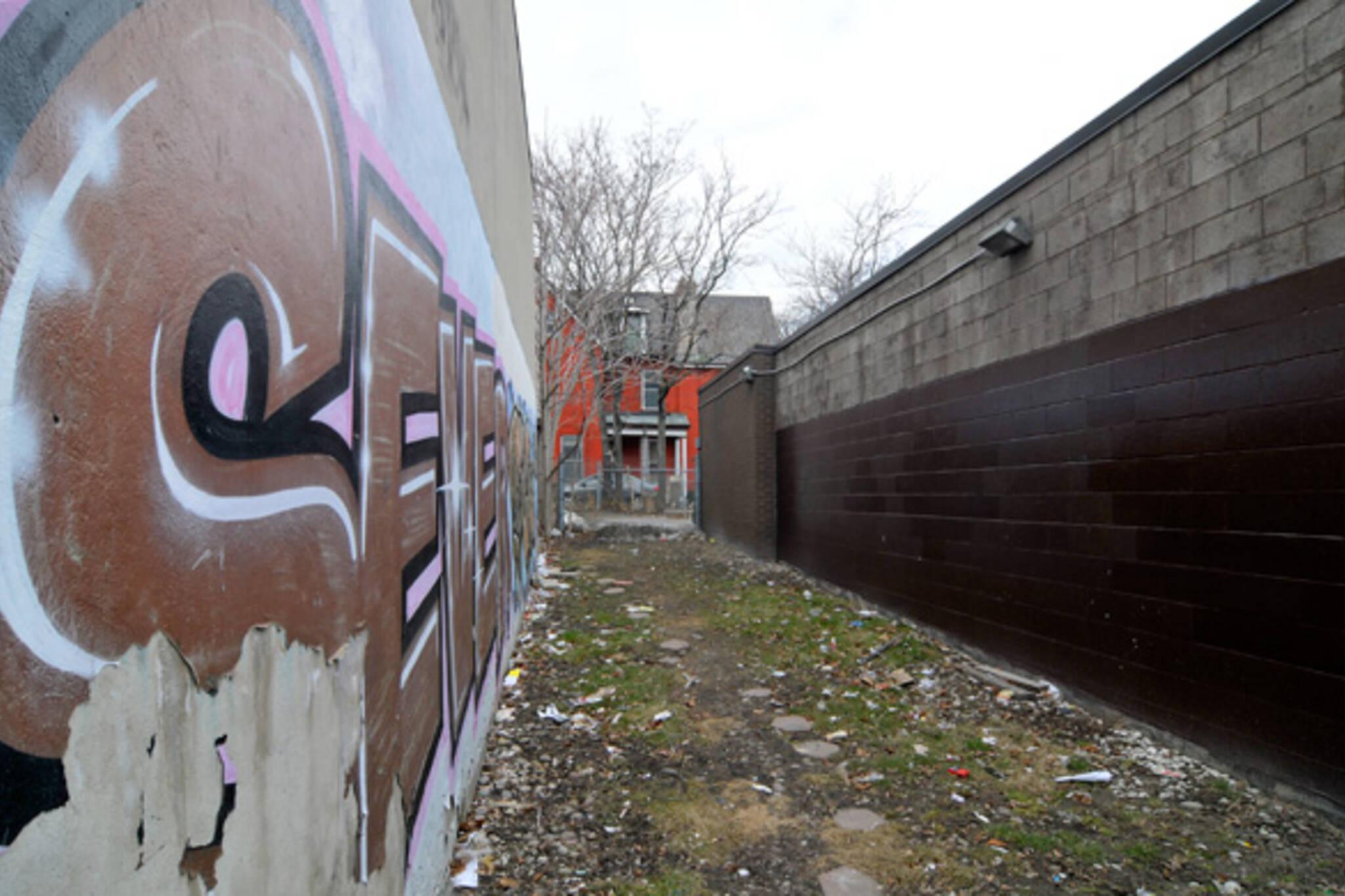 Queen West Graffiti Crackdown