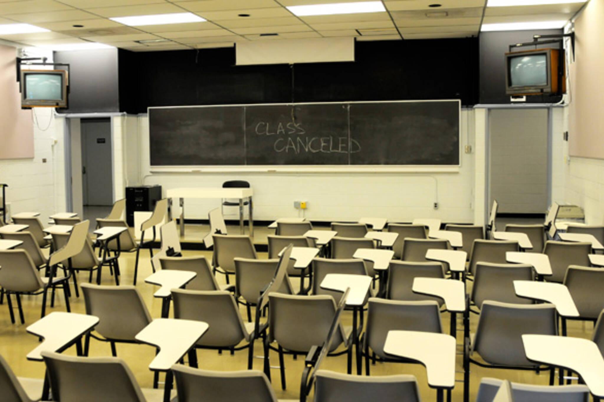 Empty Classroom U of T