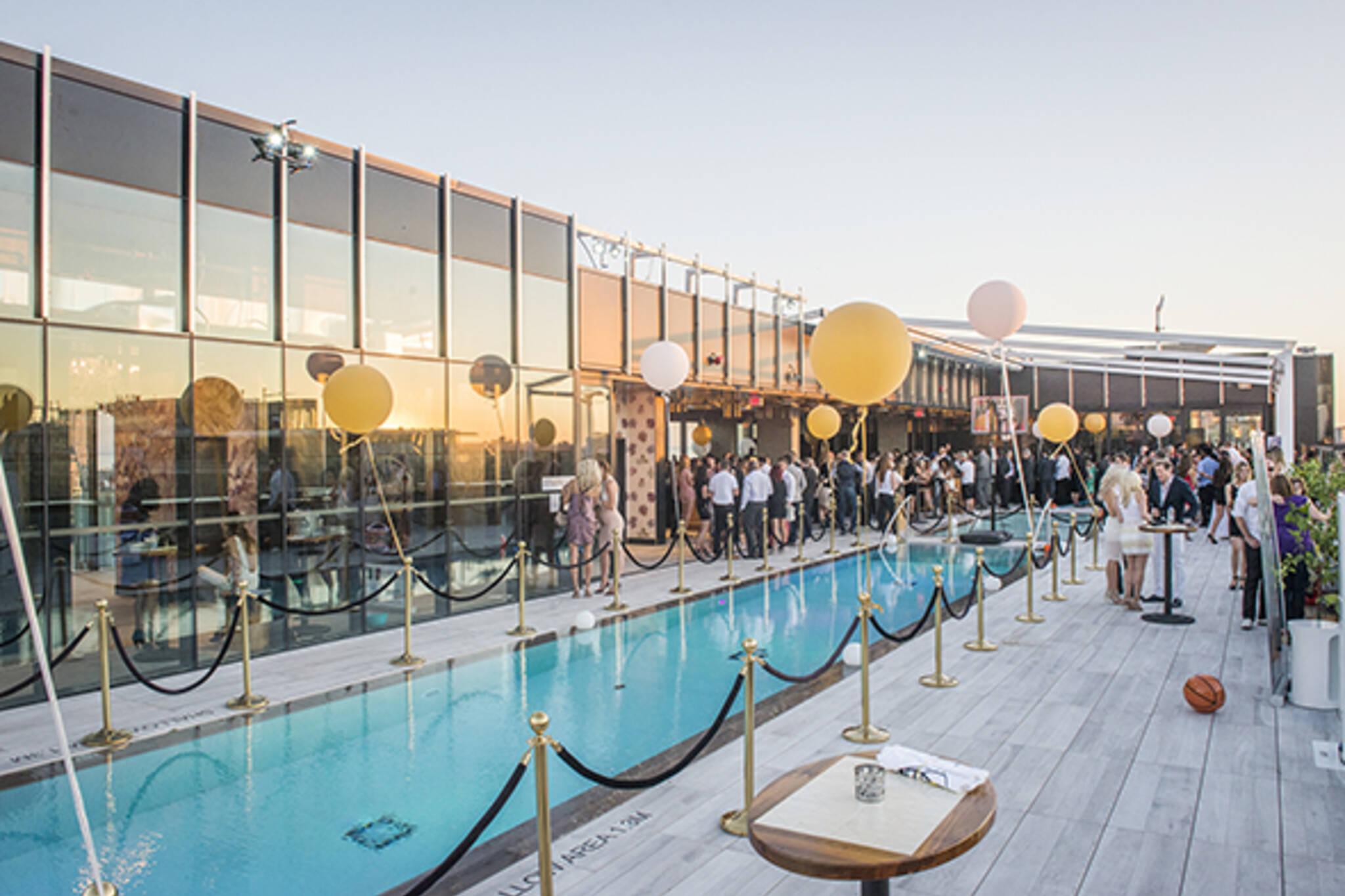 rooftop pool toronto