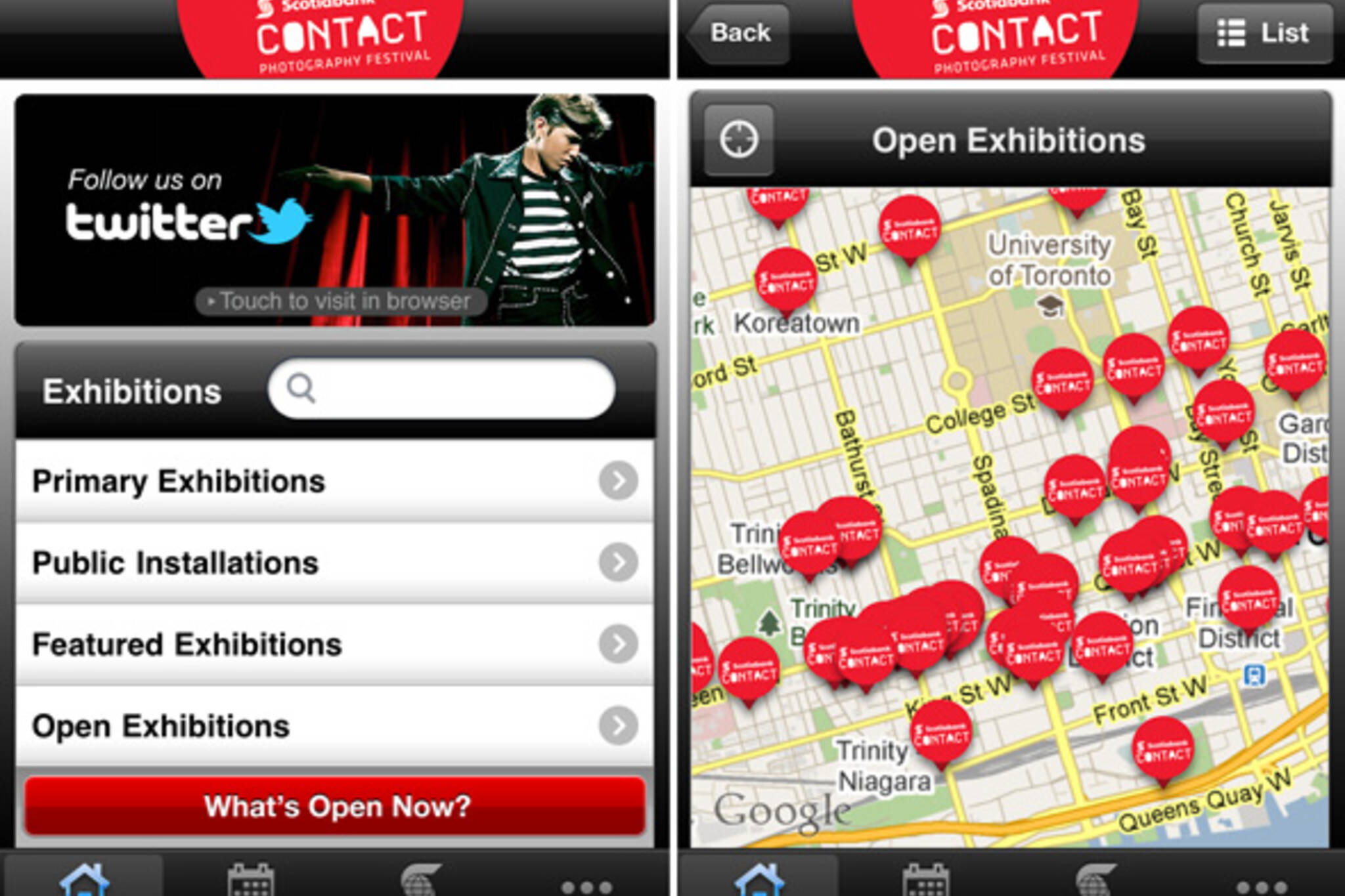 Contact Photography Festival App