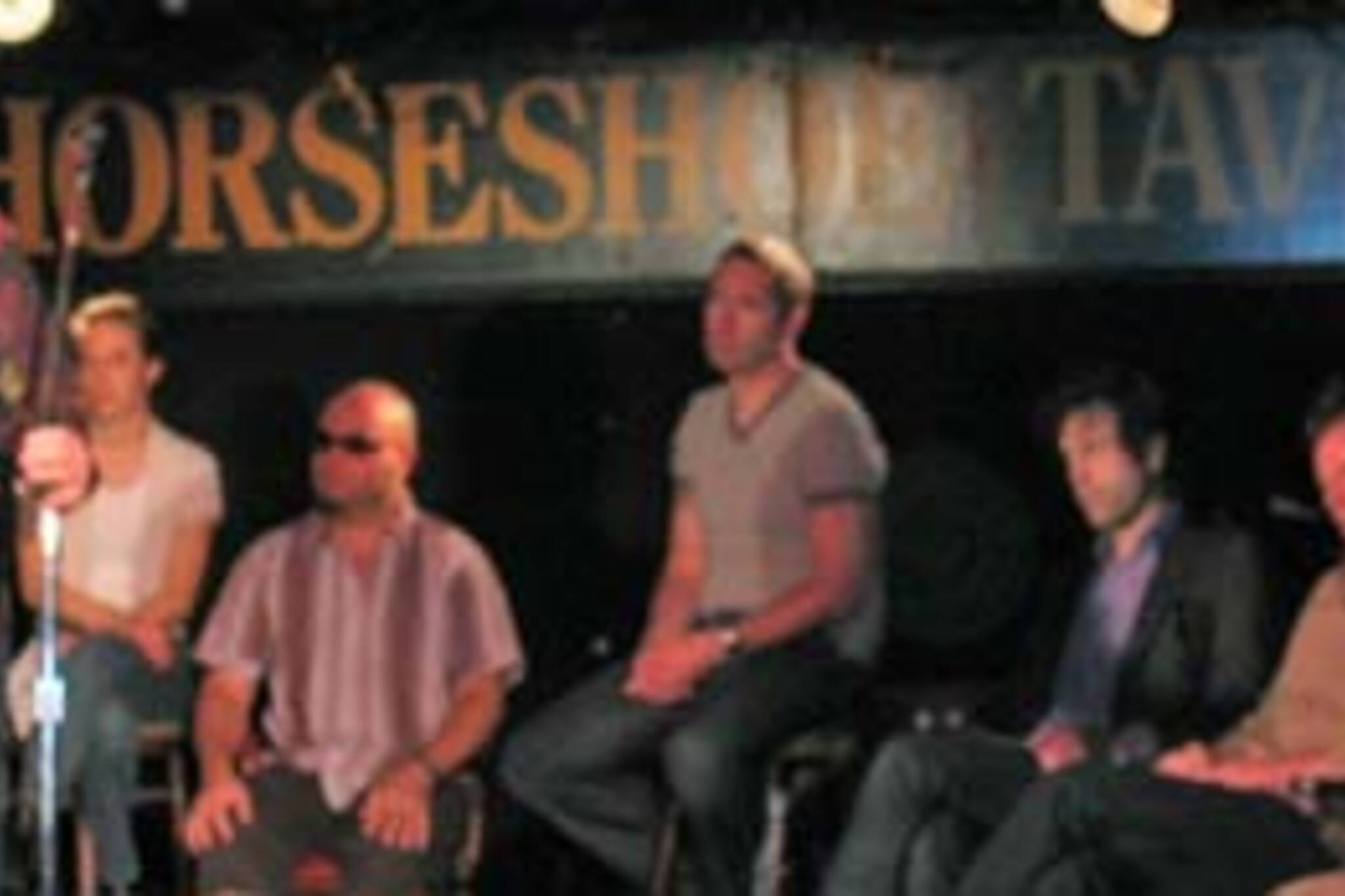 Steven Page and other members of the CMCC at the Horseshoe