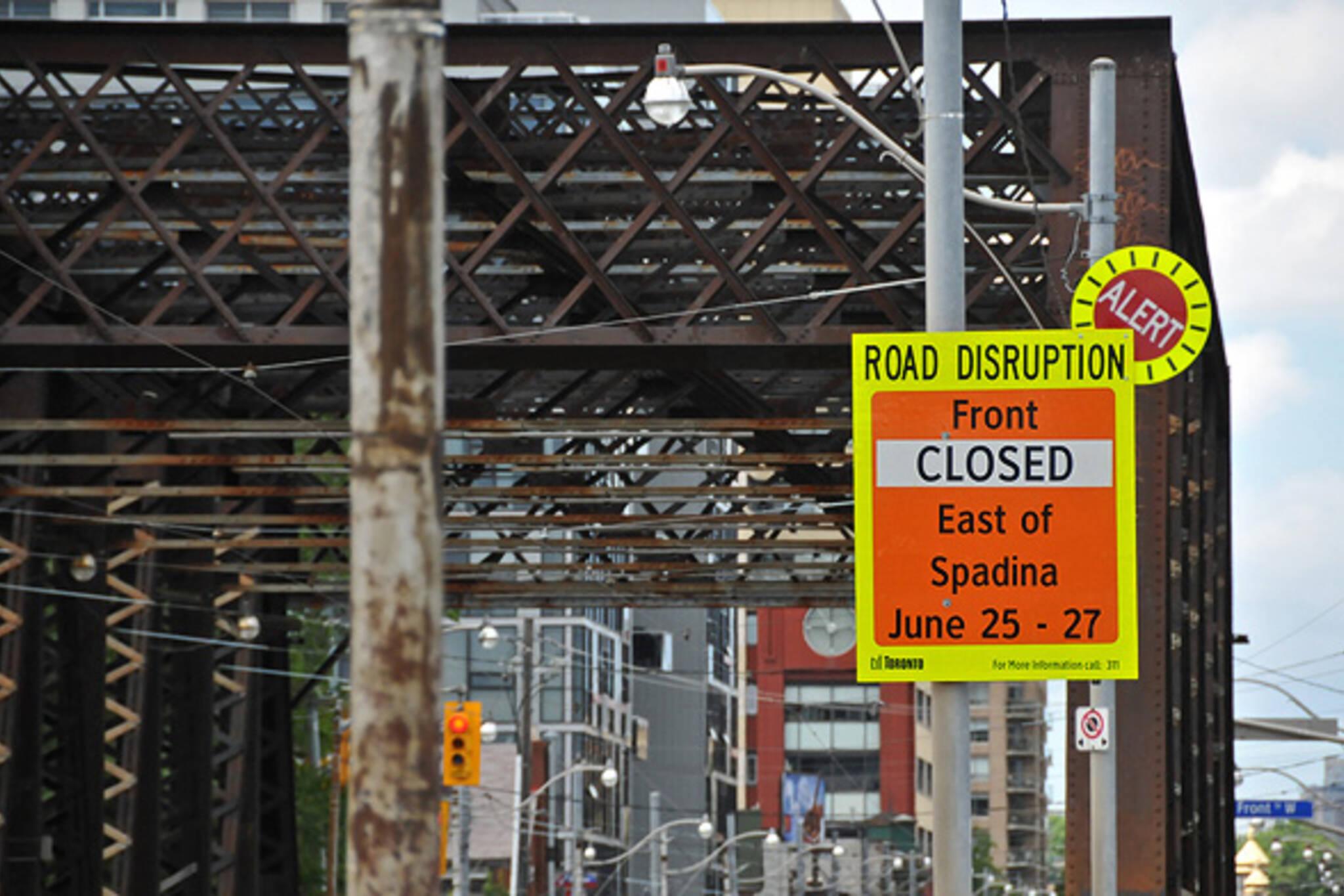 G20 Road Closure Toronto