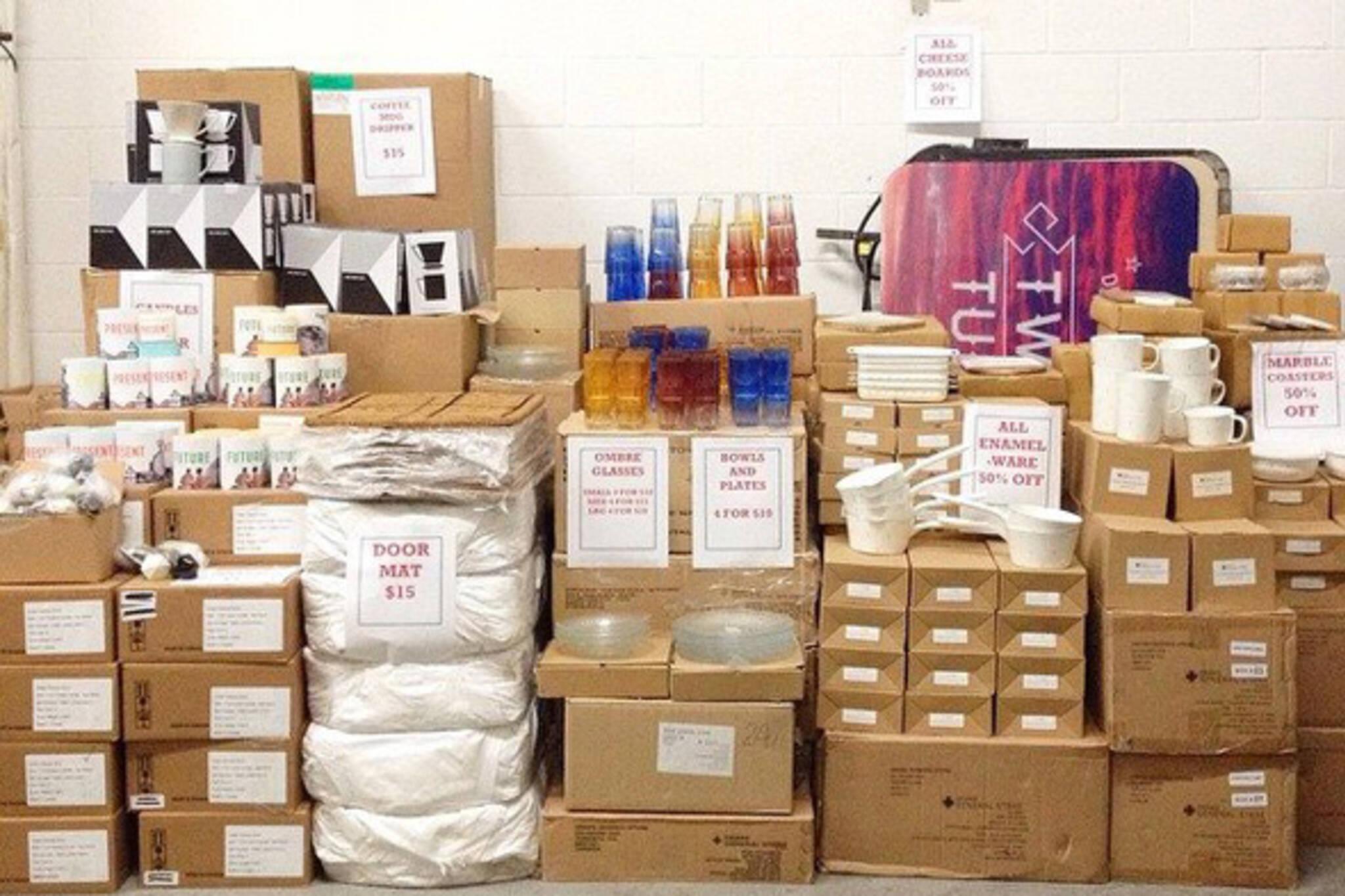 warehouse sales toronto