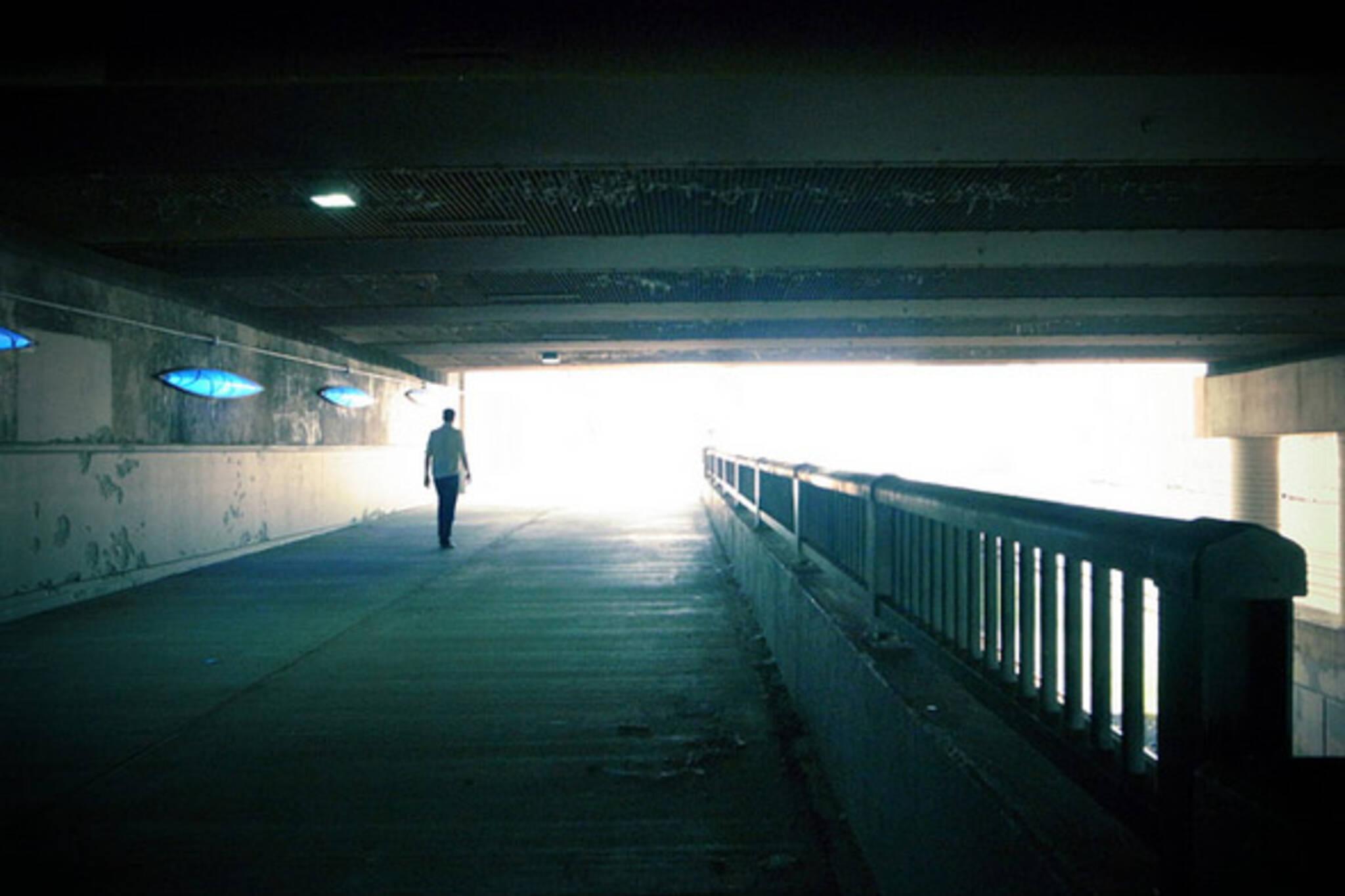 underpass, toronto, light