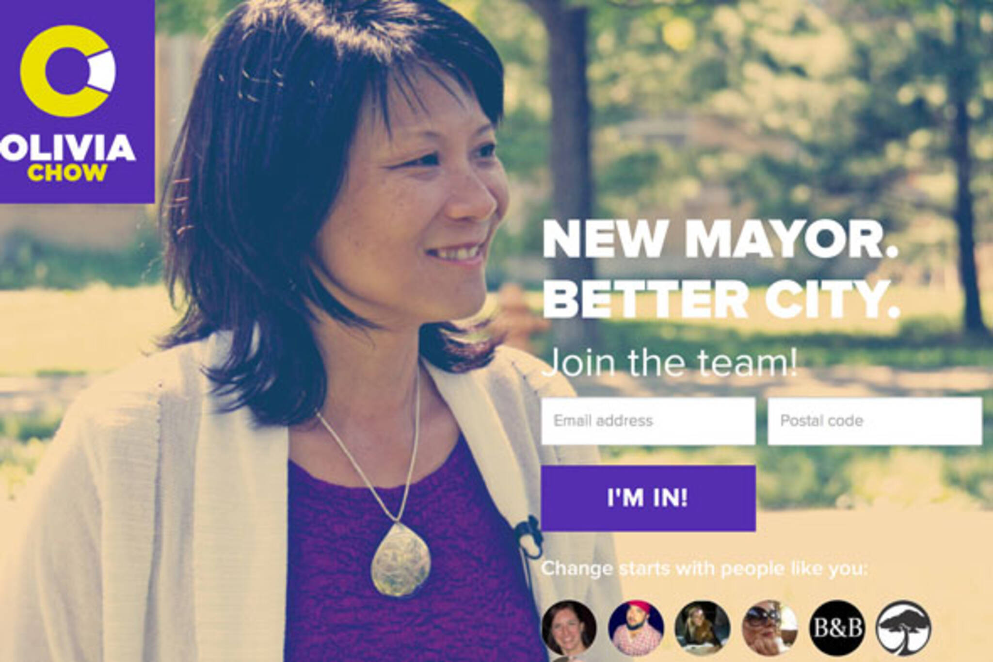 olivia chow mayor