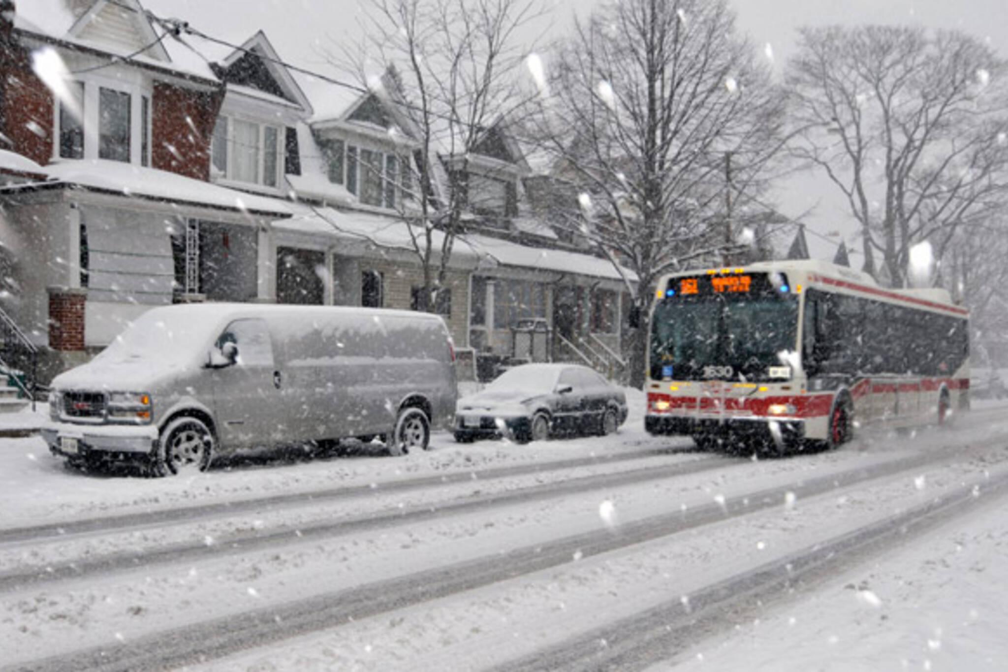 Snow Spring Toronto March 23rd