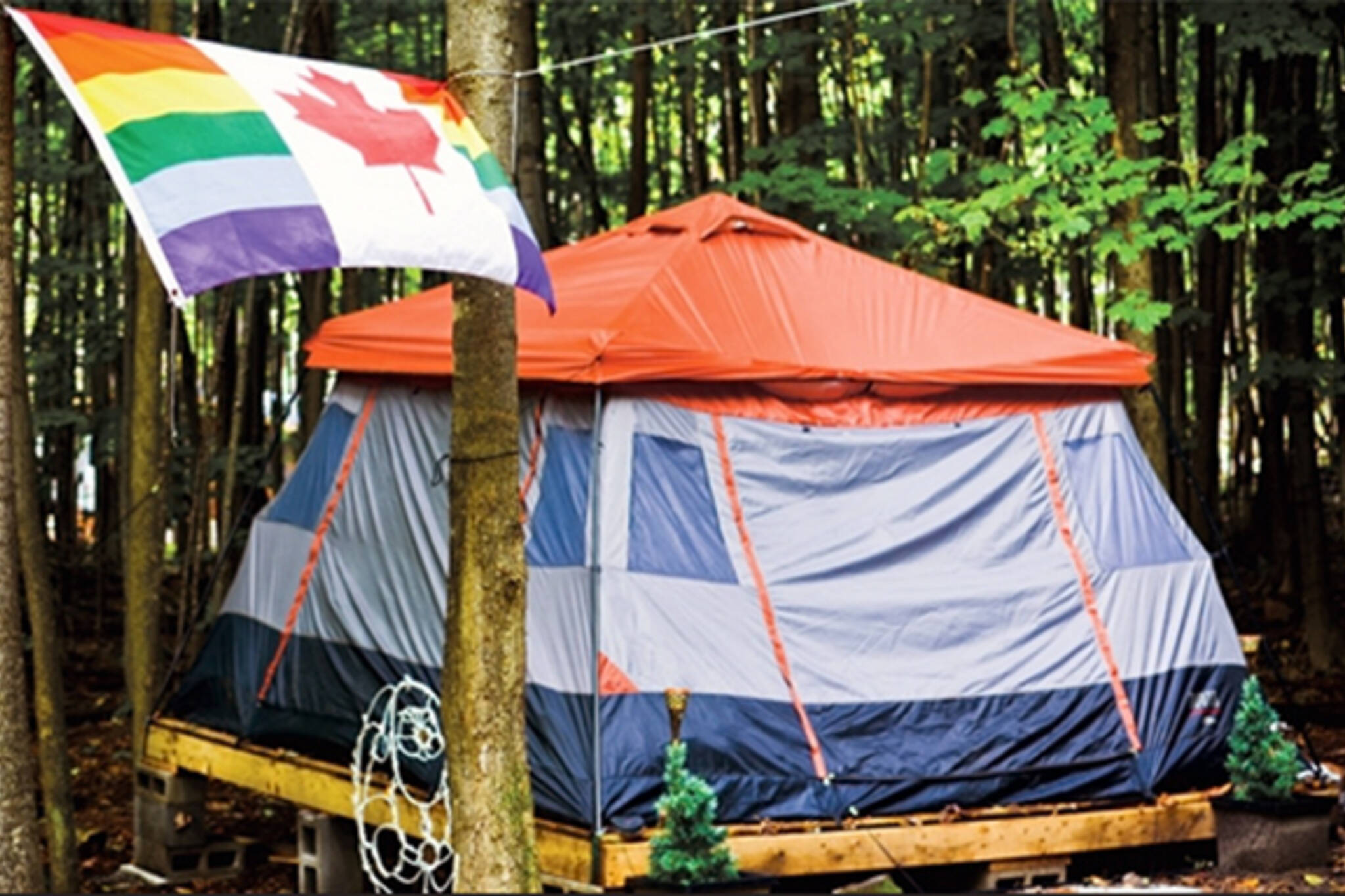 5 places to go gay camping near Toronto