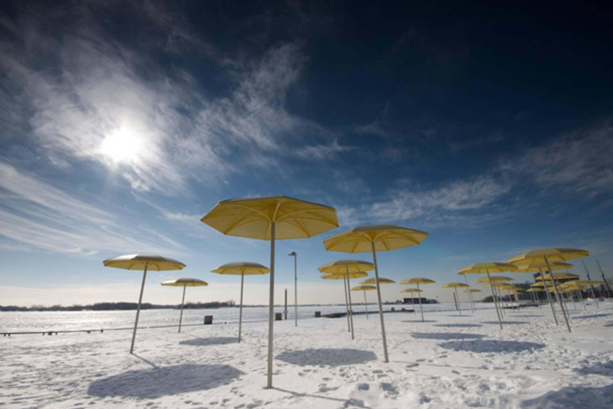 Cold Beach Toronto