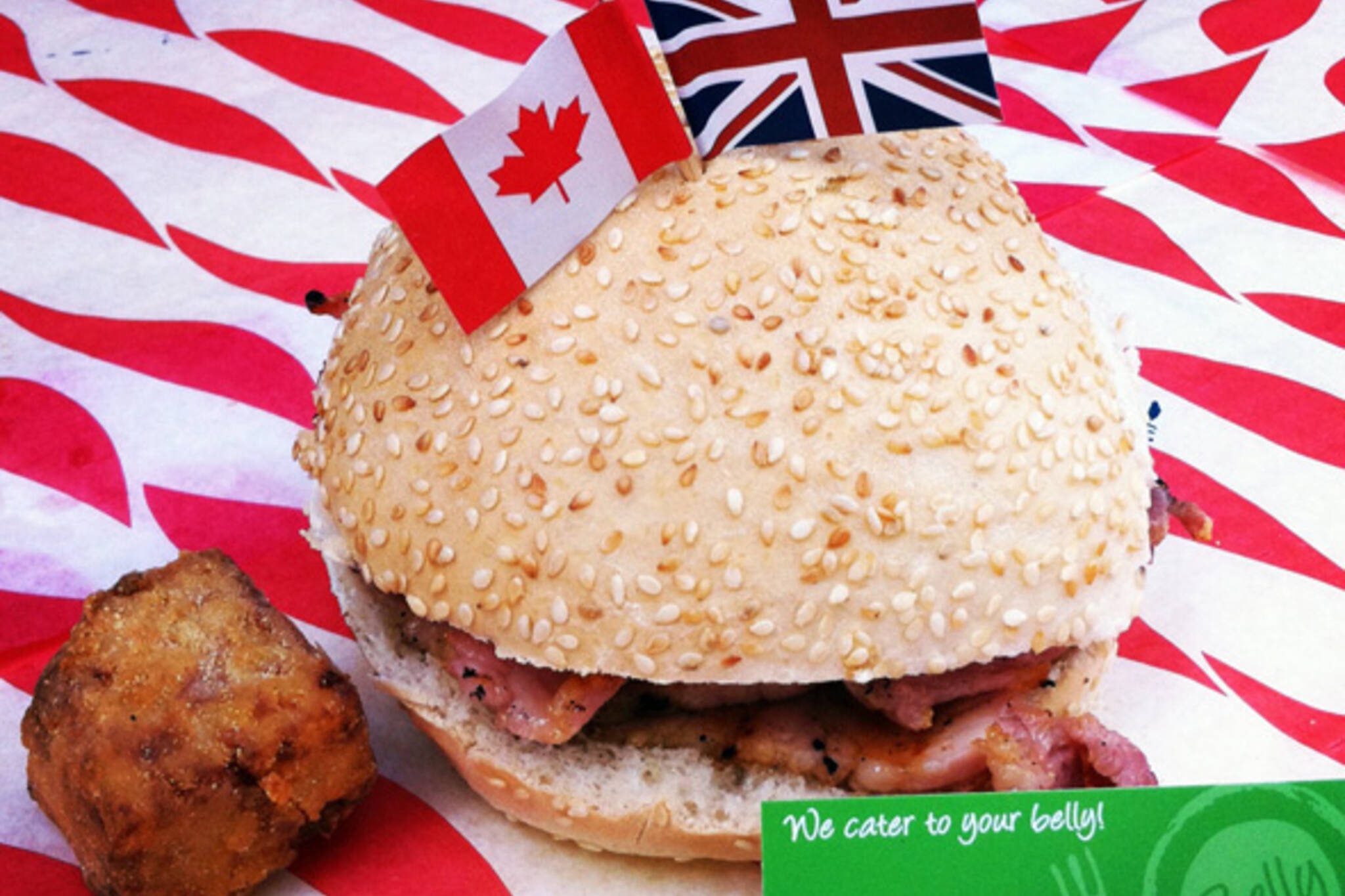 Peameal Bacon Sandwich London