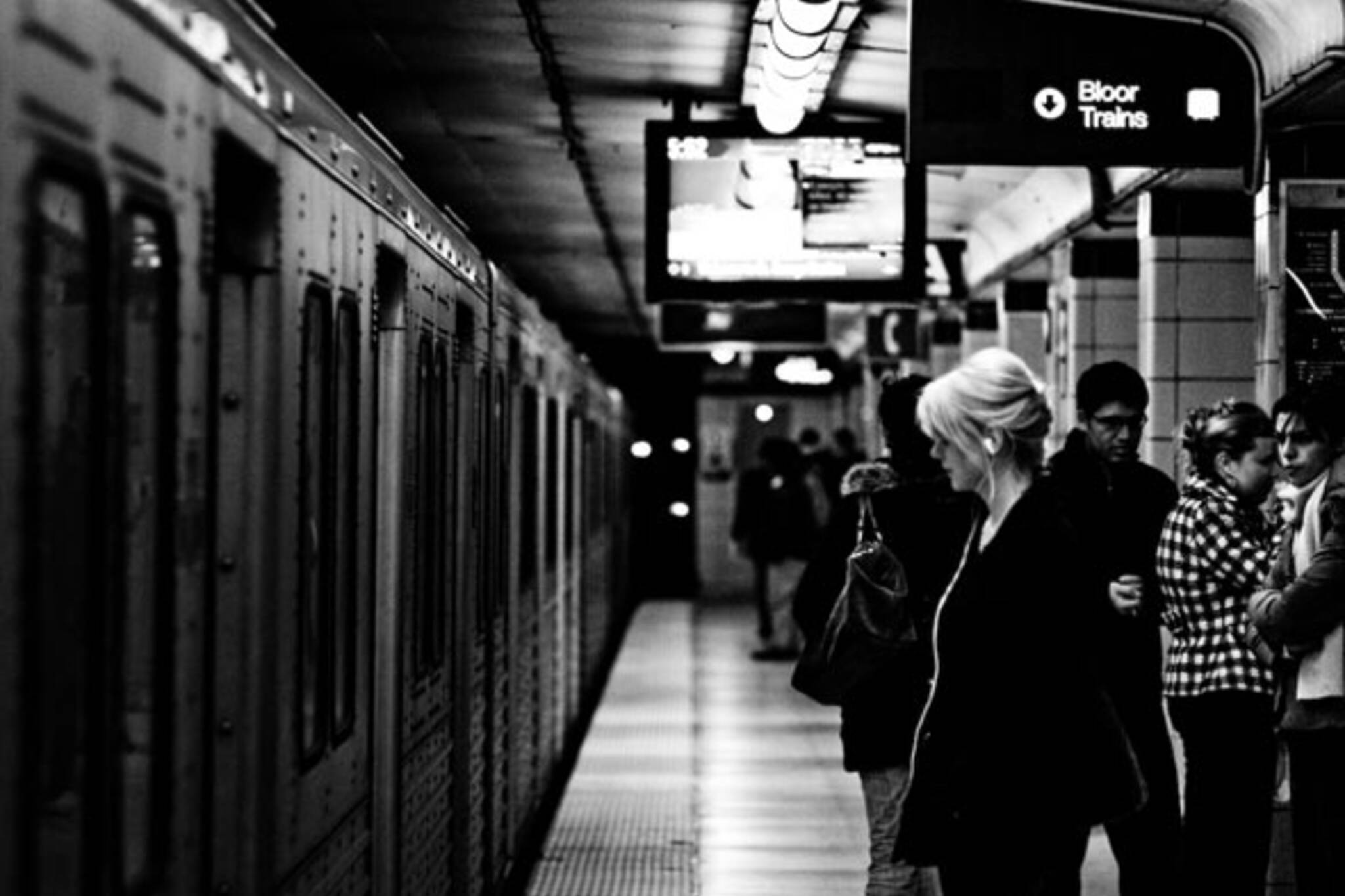 toronto subway ttc photos