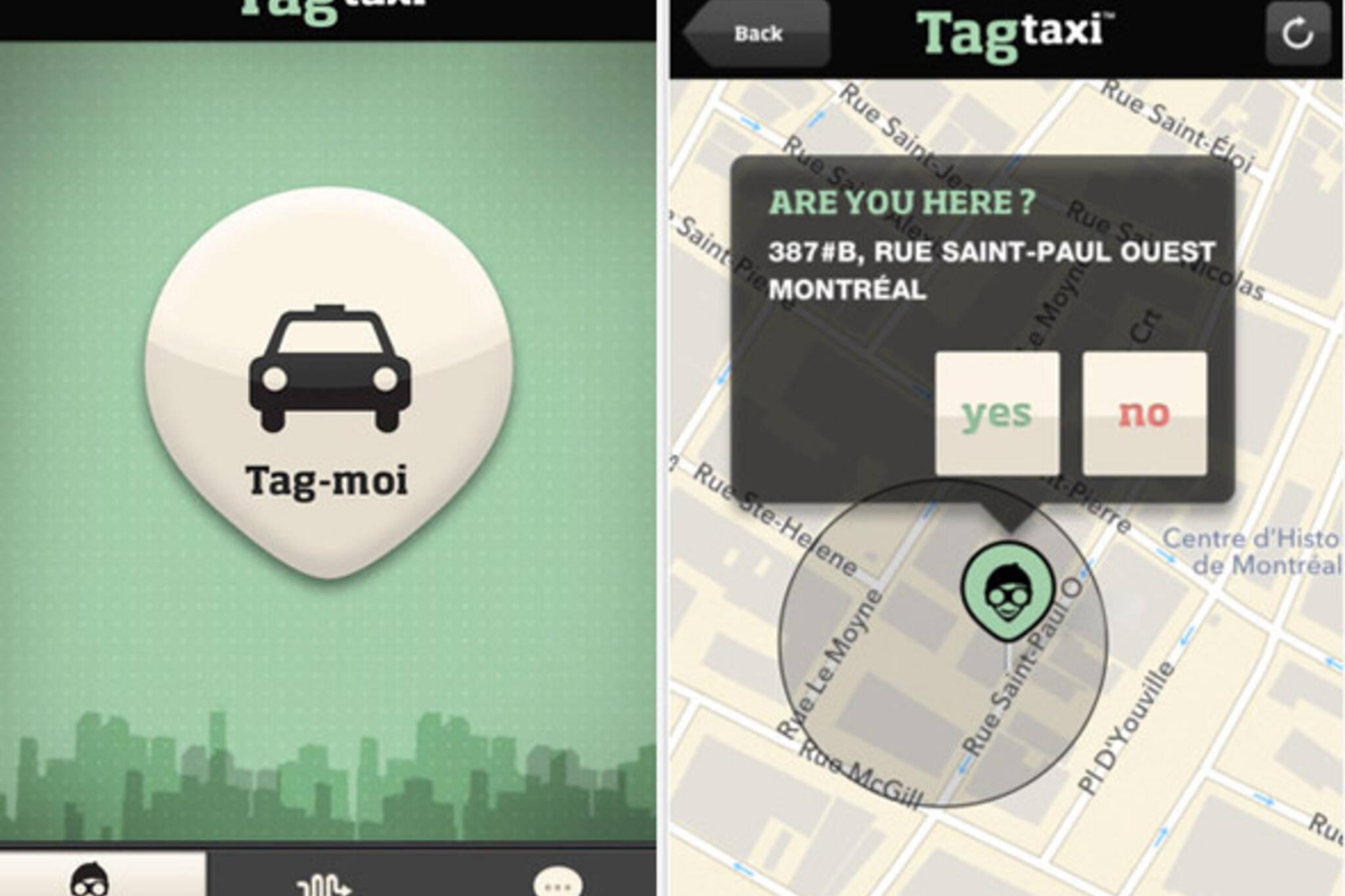 TAG Taxi GTA