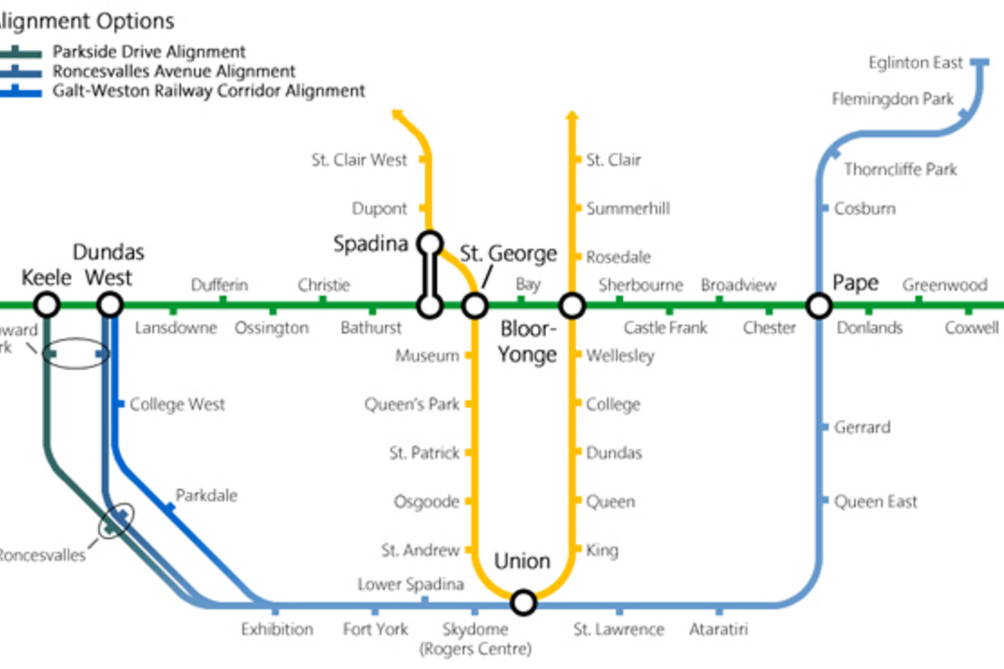 Downtown Relief Line Toronto