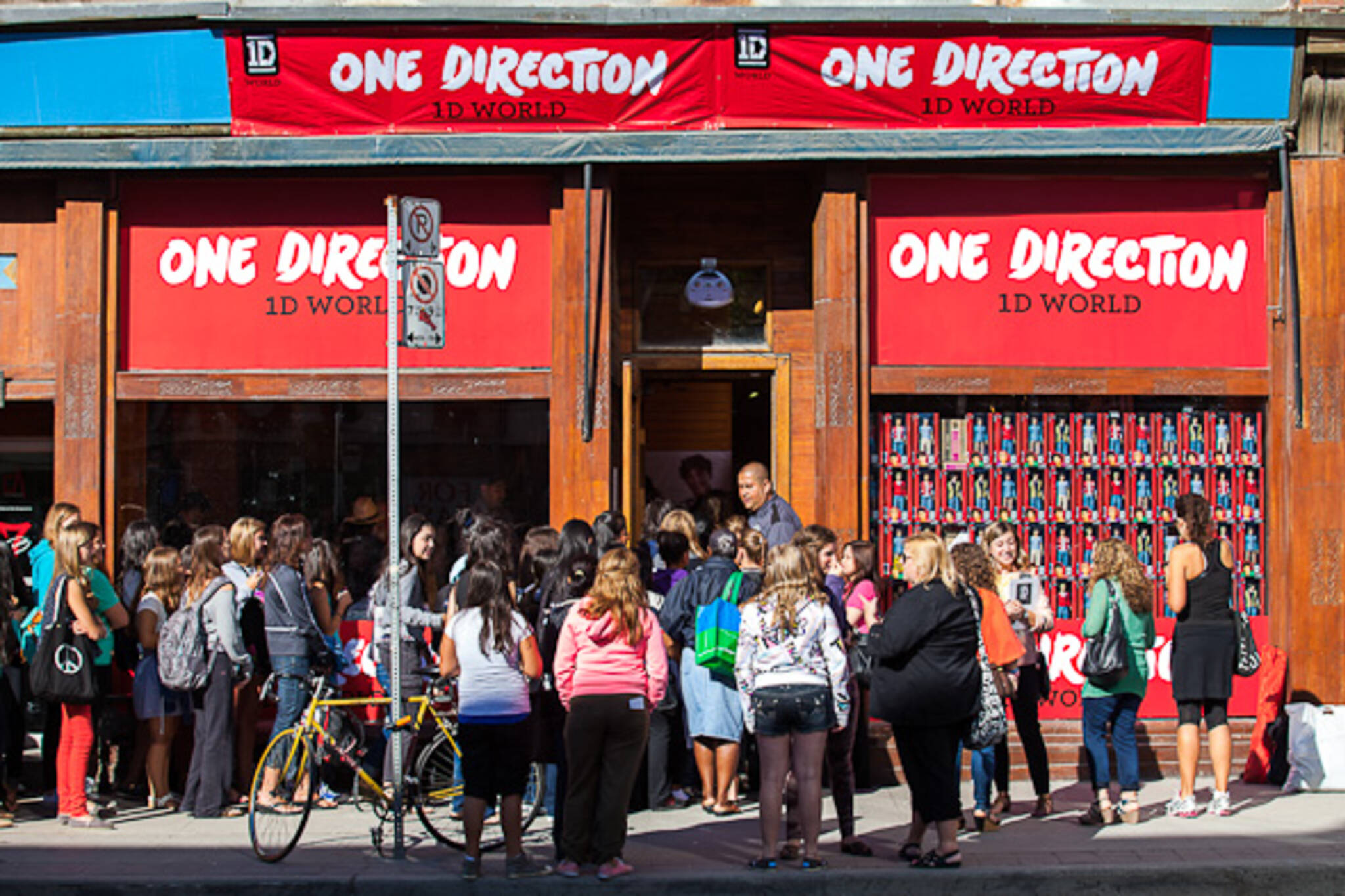 one direction store toronto