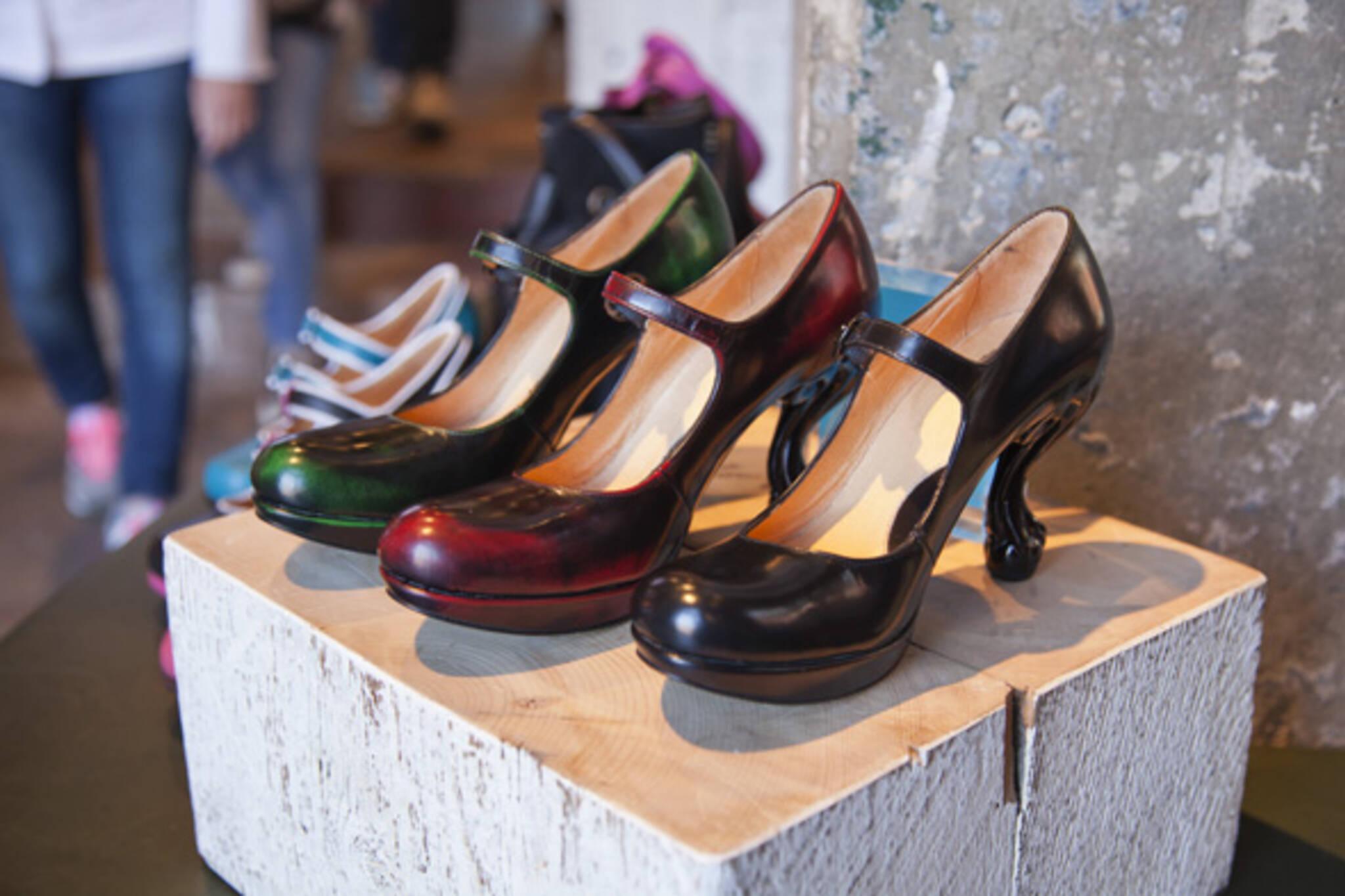 Shoes Distillery District