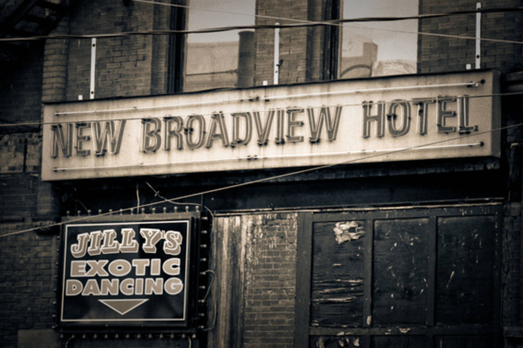 New Broadview Hotel and Strip Club