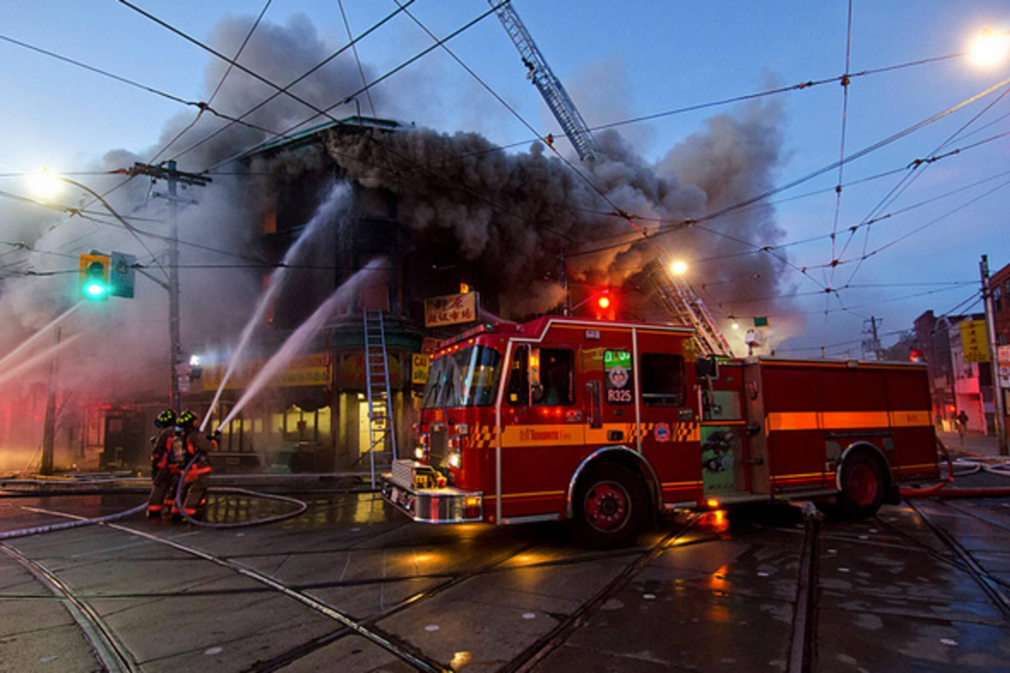 Toronto Fire Broadview Gerrard
