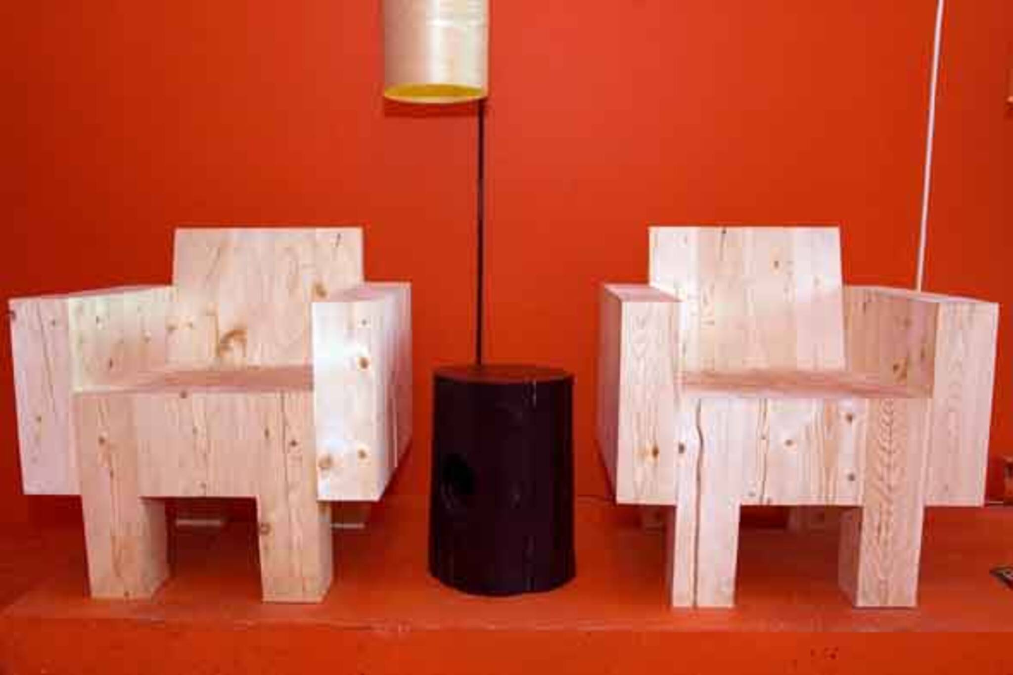Block Chairs and Holy Stump
