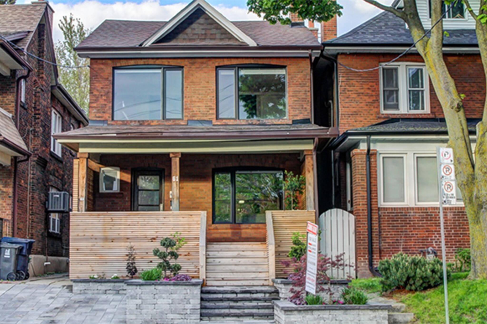 detached housing price toronto