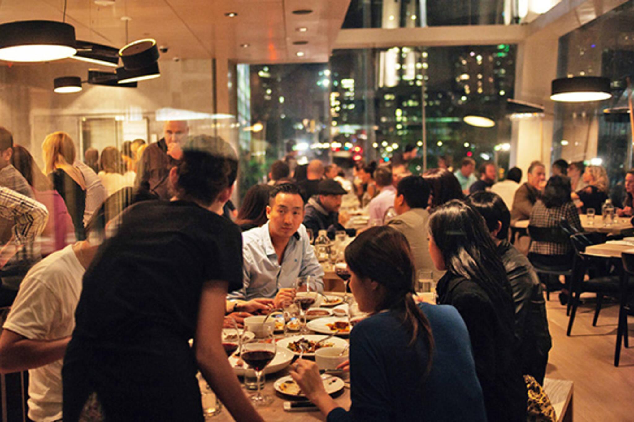 new years dinner toronto