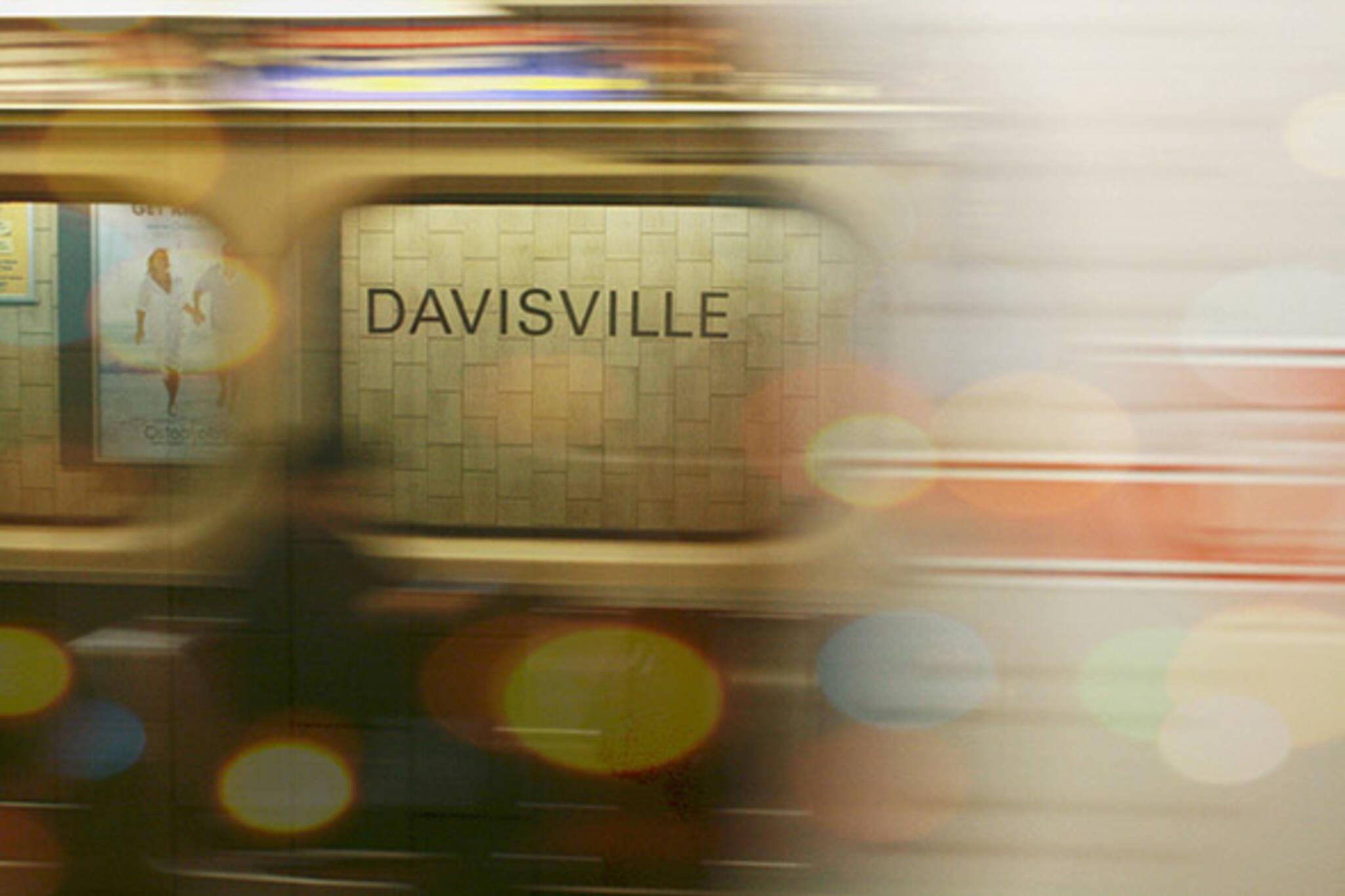 davisvile, subway, station