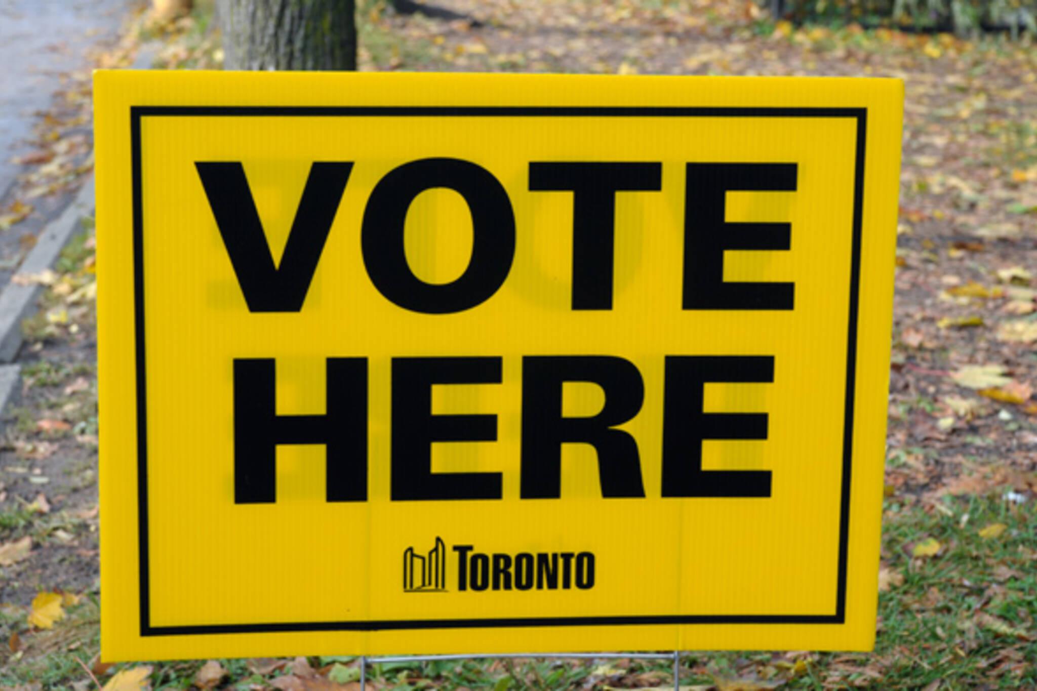 Watch Toronto election