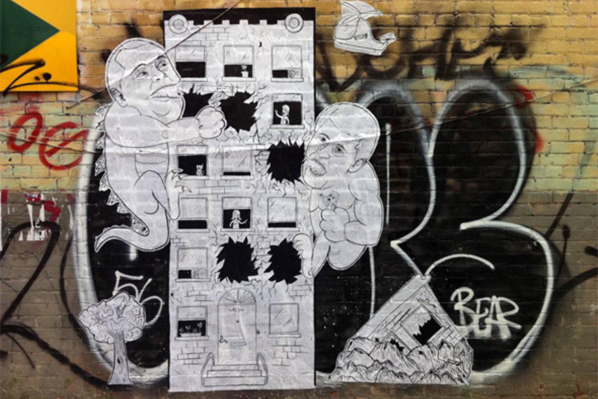 Fordzilla Graffiti