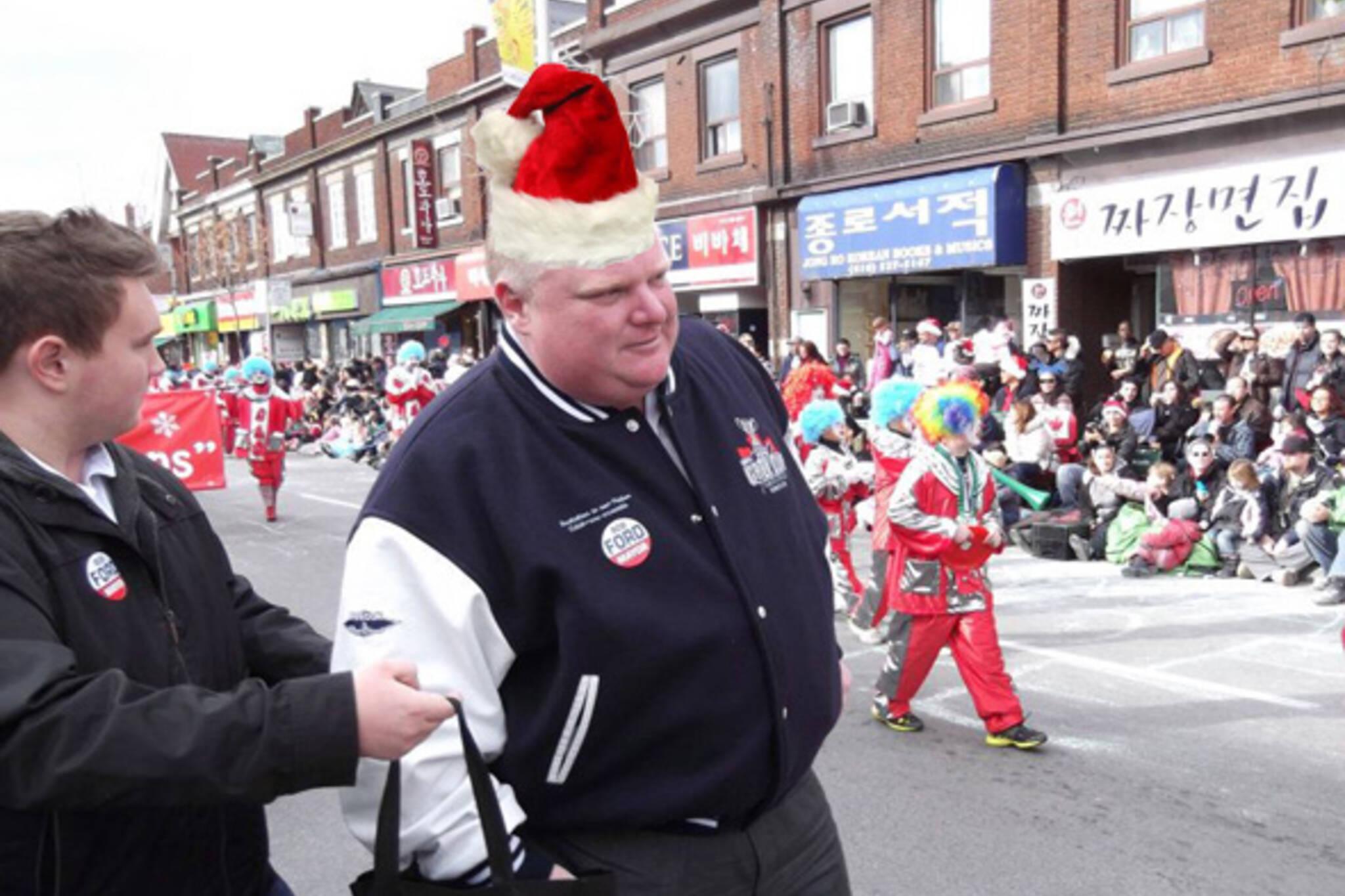 Rob Ford Santa Claus