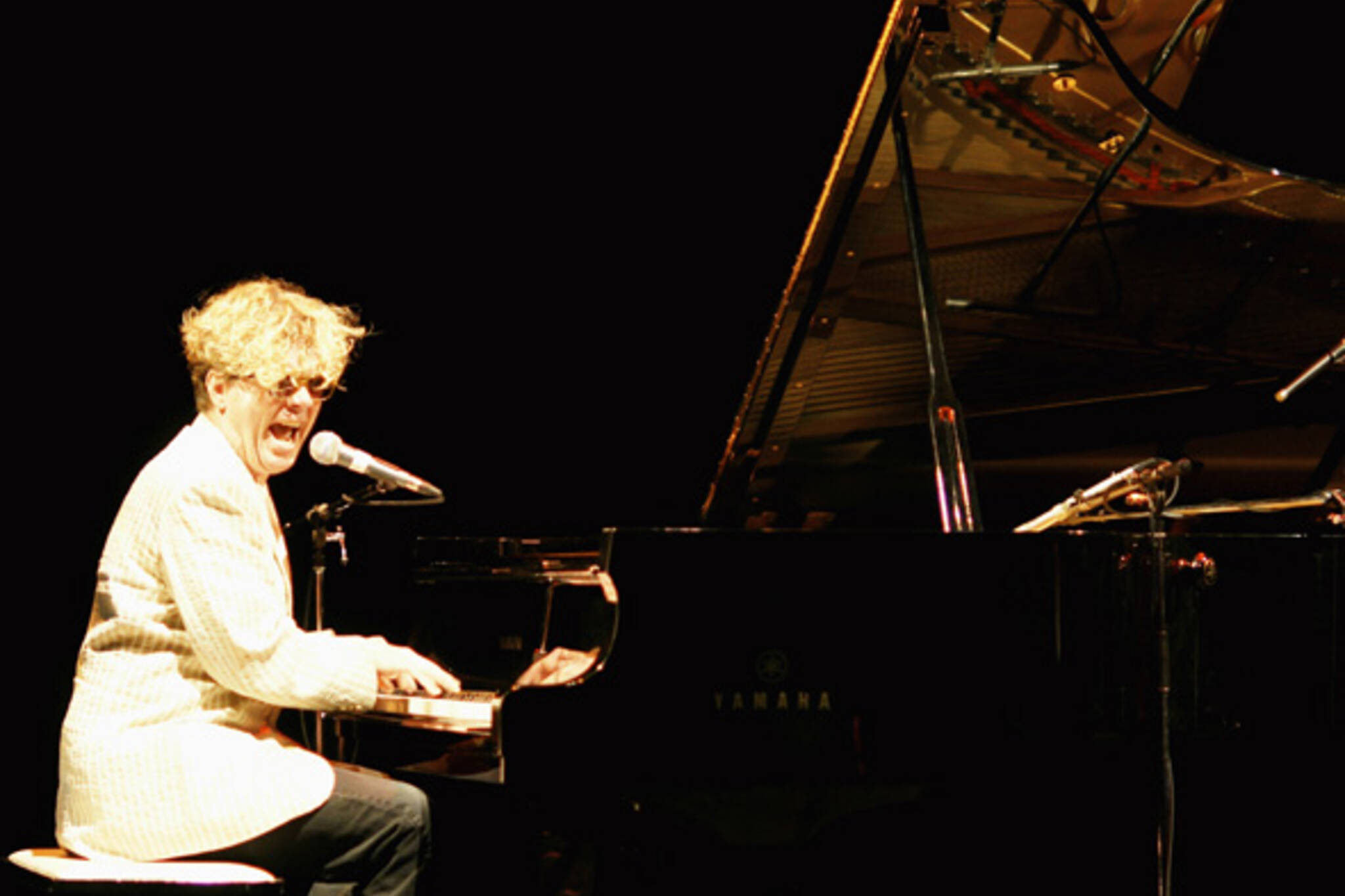Ted Dykstra as Jerry Lee Lewis in Fire excerpt during Art of Time Ensemble's Words & Music concert