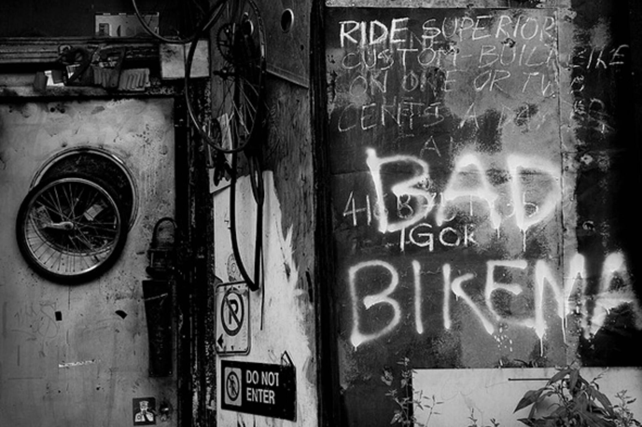 Toronto bike thief