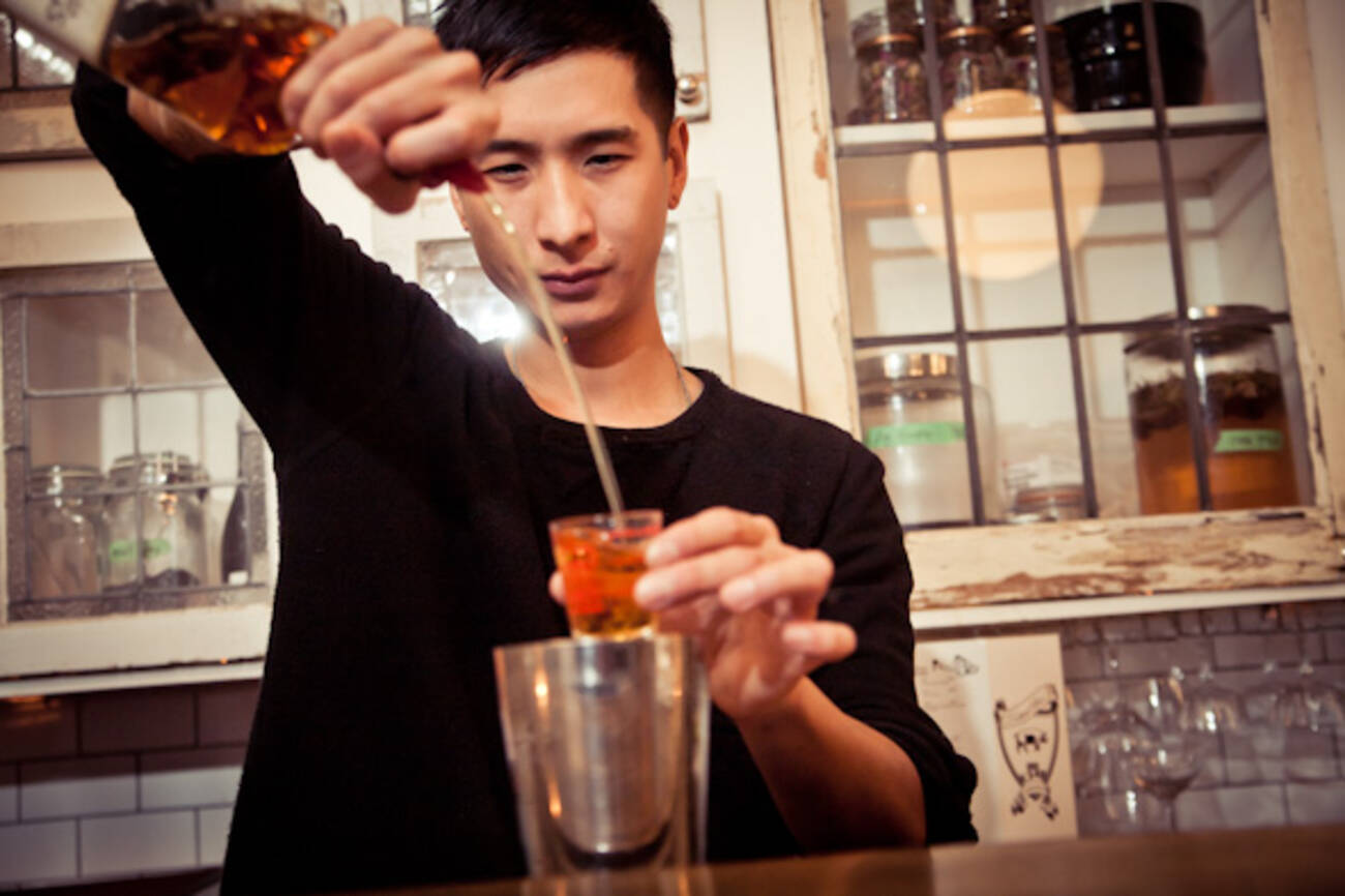 Get To Know A Bartender Tommie Cheng Of Cocktail Bar