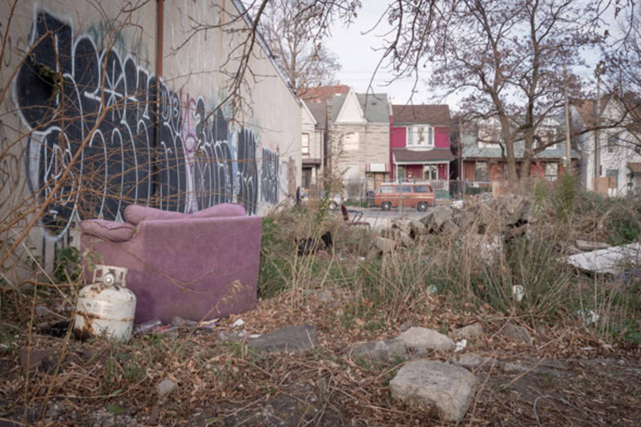 toronto vacant lot