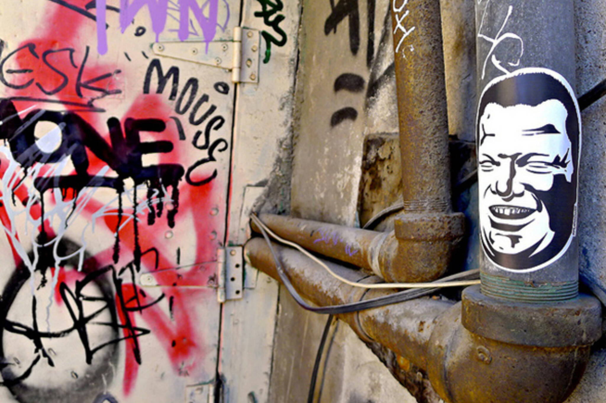 Spud graffiti Toronto