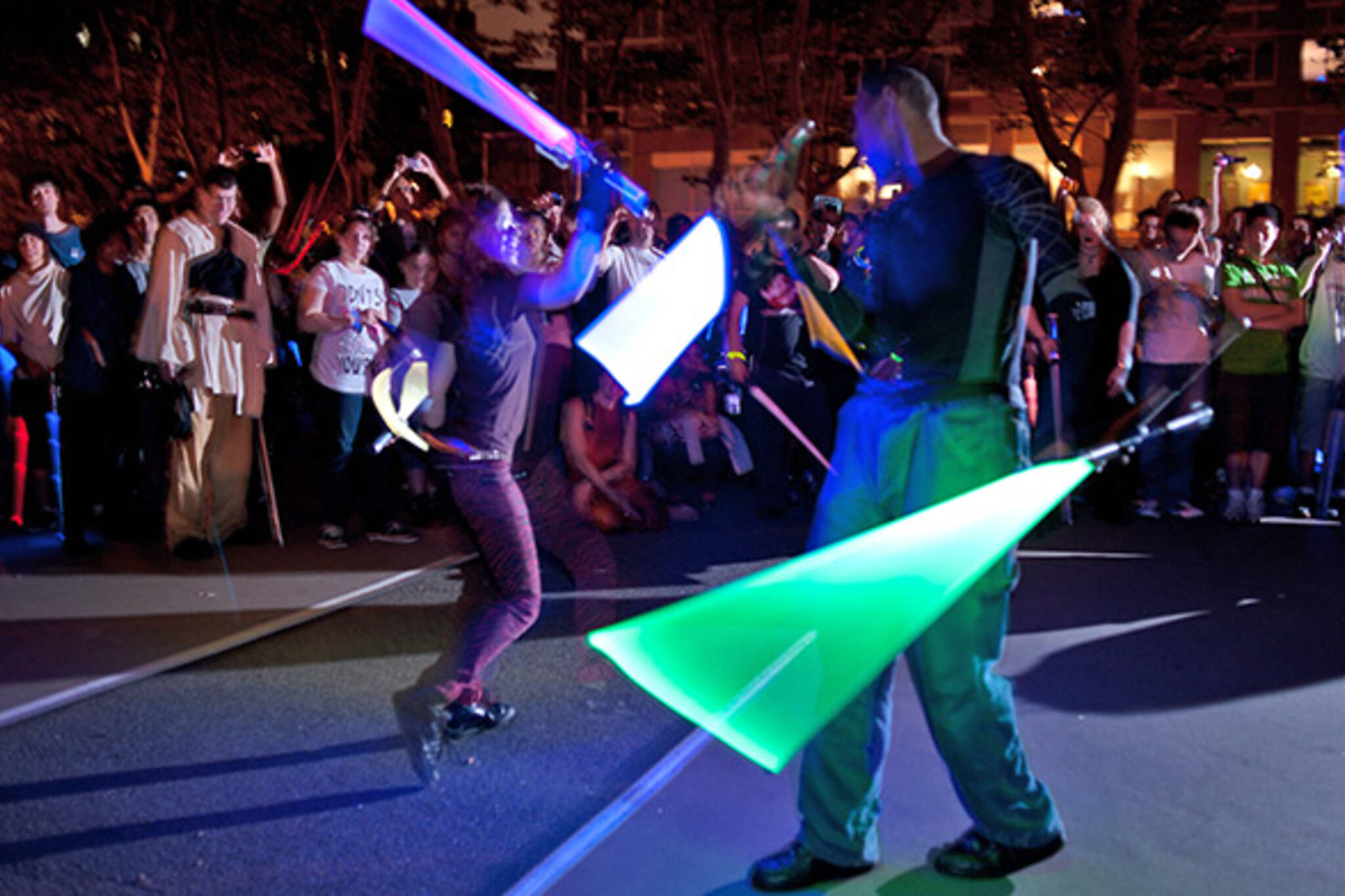 lightsaber battle toronto