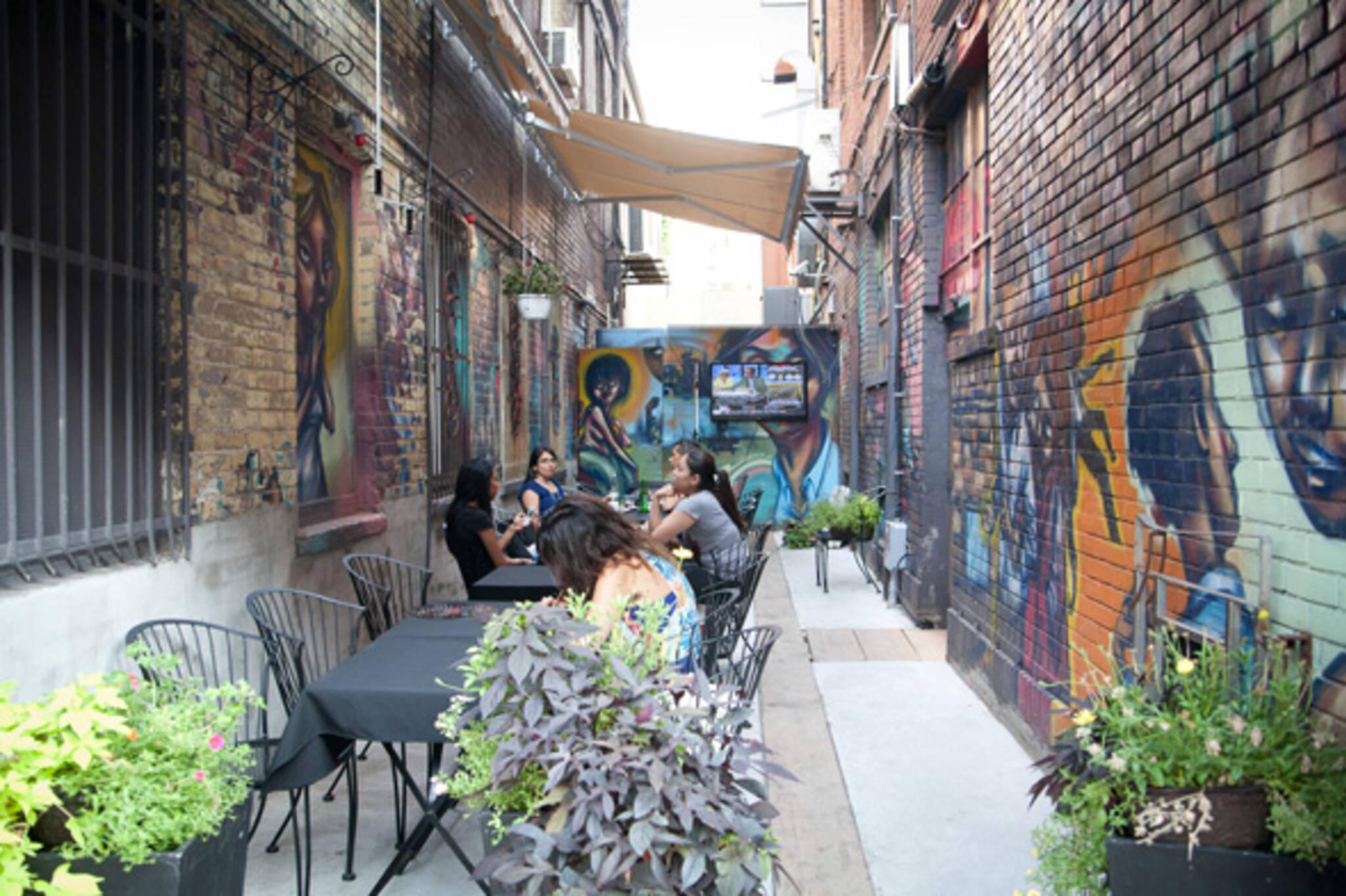 The Top 5 Alleyway Patios In Toronto
