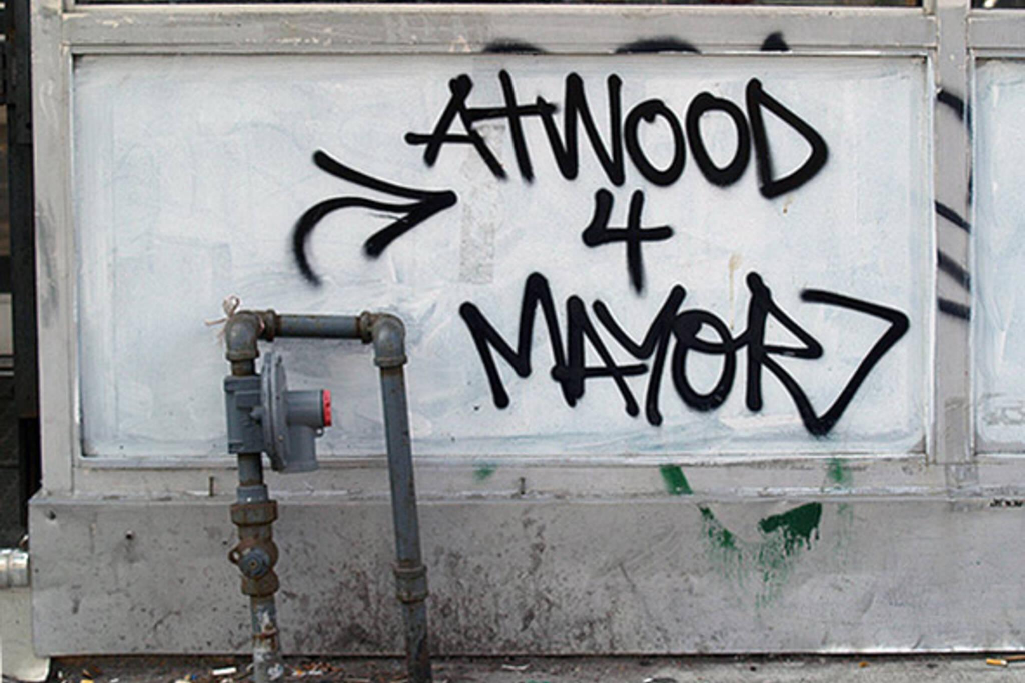 Margaret Atwood Toronto Mayor