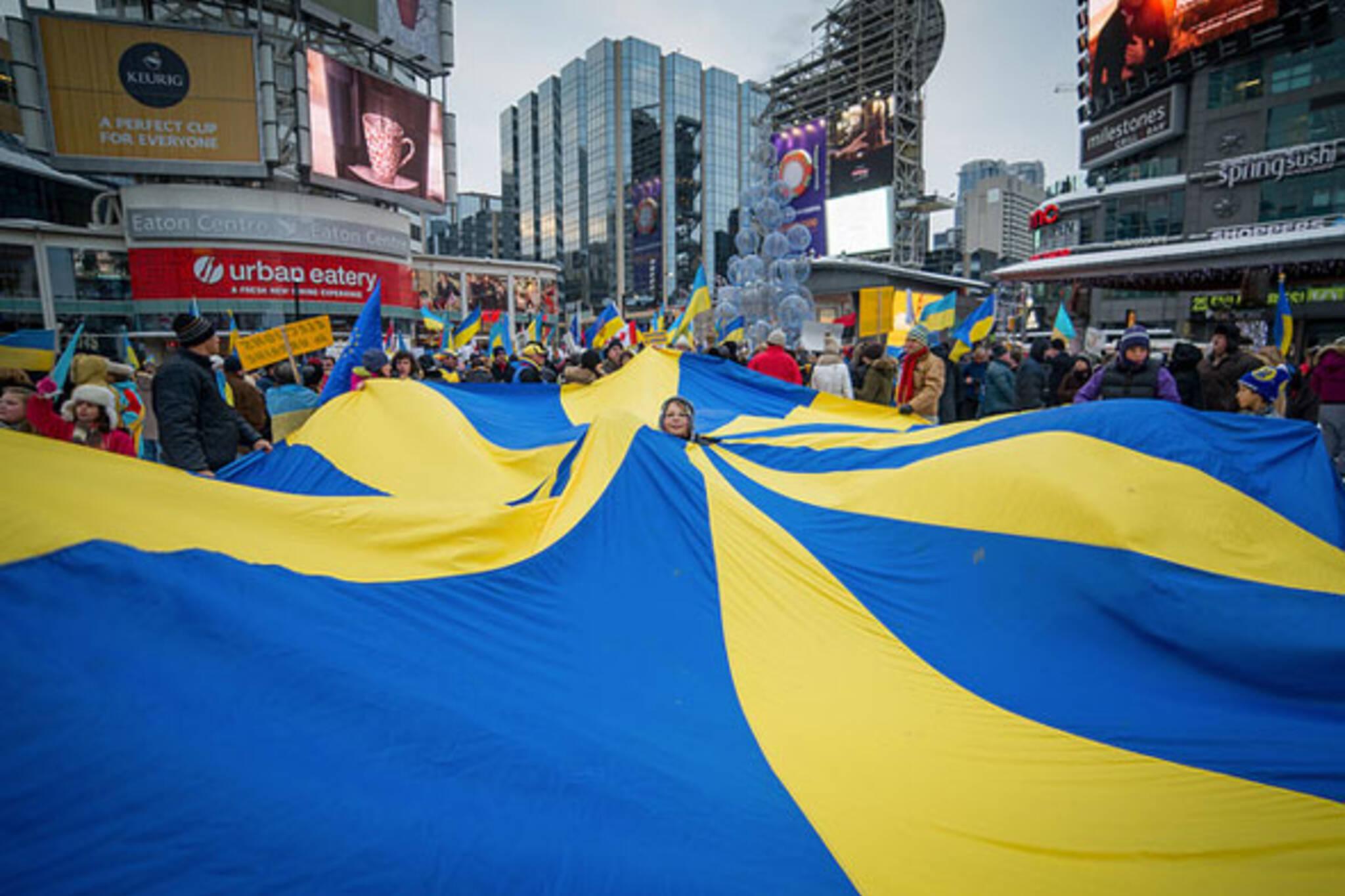 toronto ukraine protest