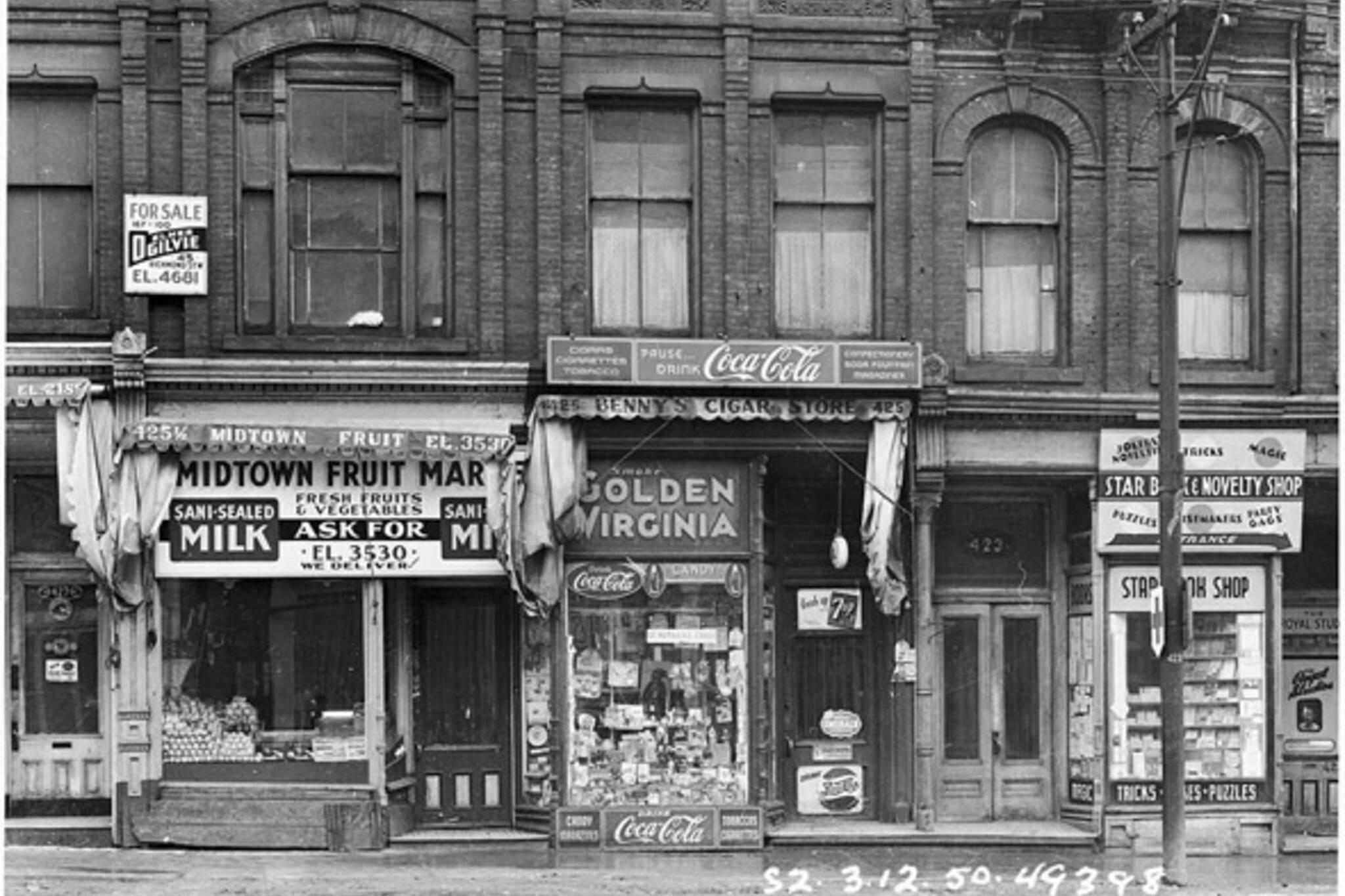 Yonge Street Toronto 1950s